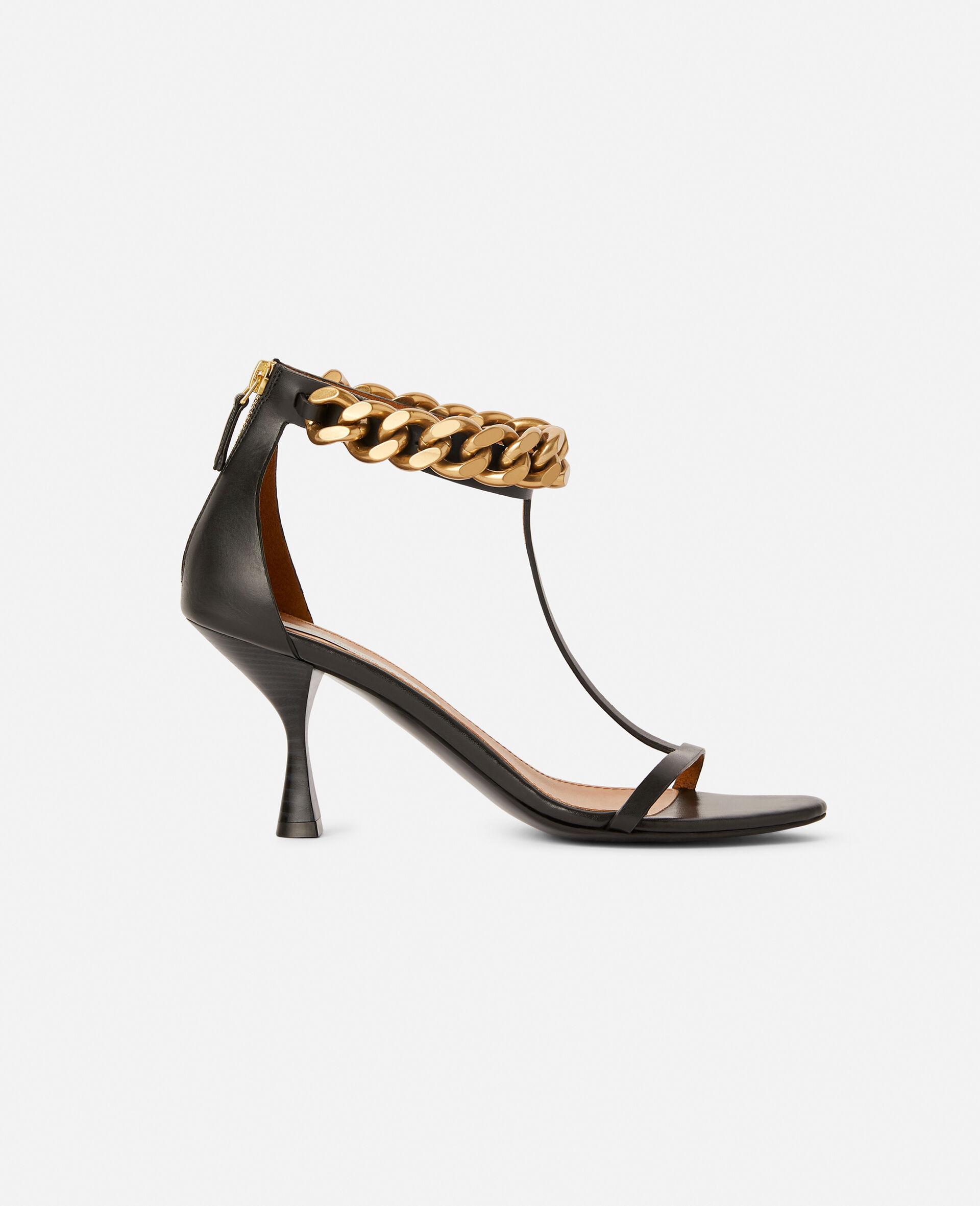 Falabella Heel Sandal -Black-large image number 0