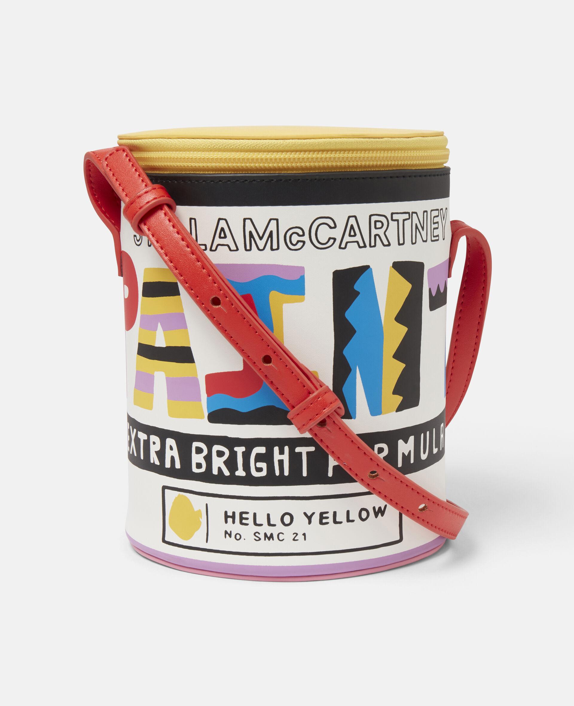 Paint Can Alter Mat Shoulder Bag-Multicolour-large image number 0