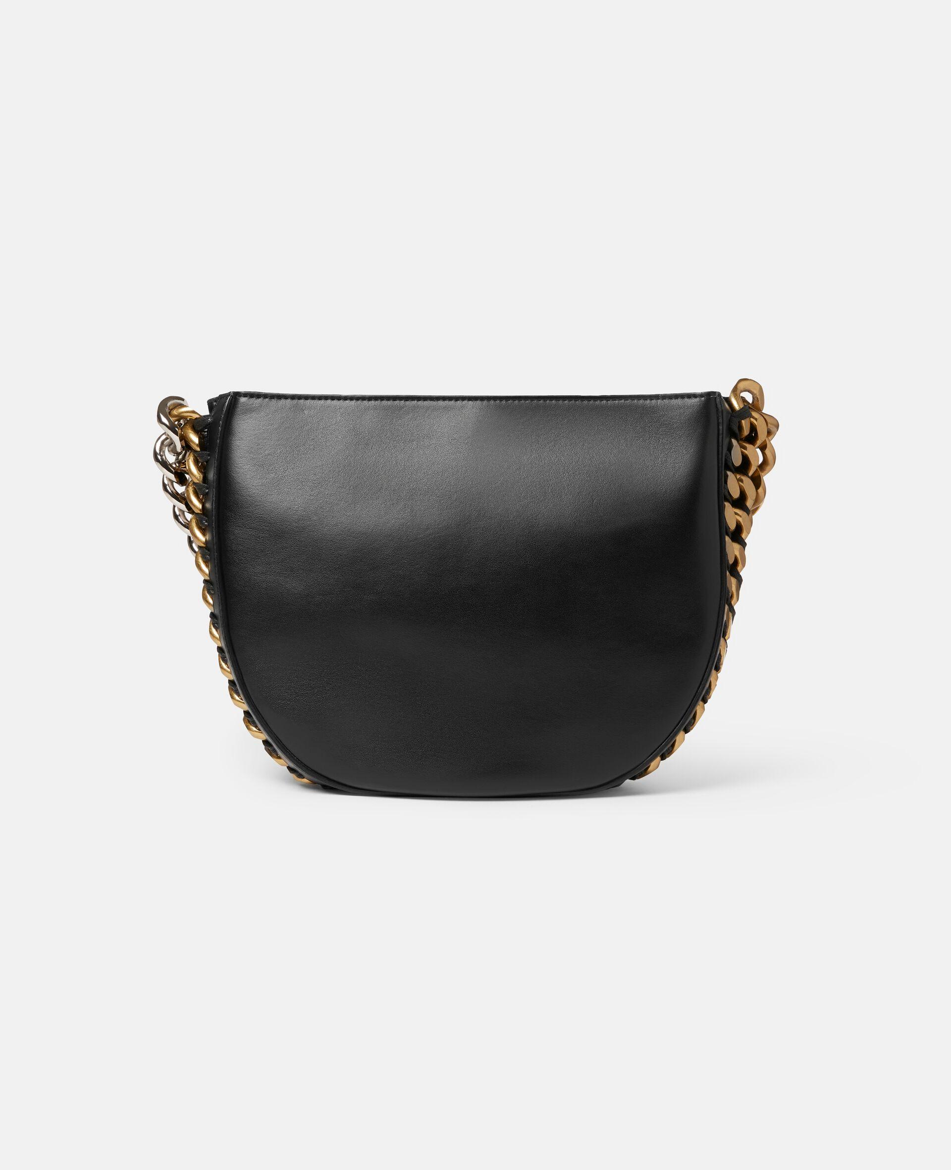 Frayme Medium Shoulder Bag-Black-large image number 2