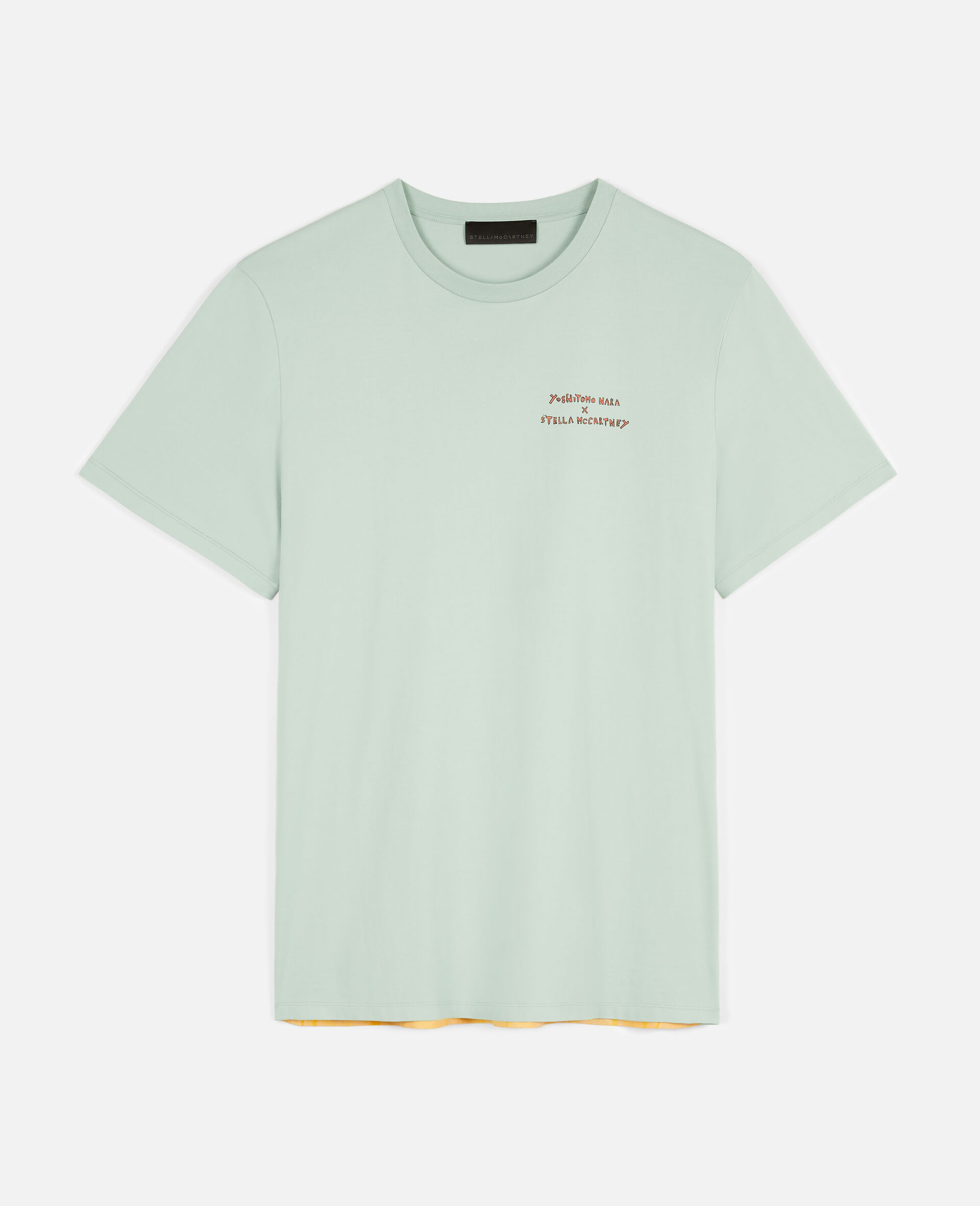 T-Shirt in Cotone Organico Nara -Verde-large image number 0