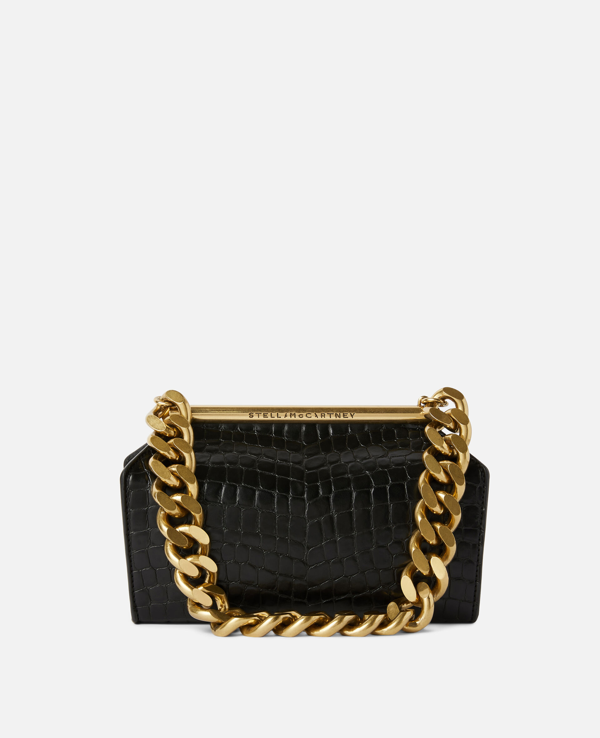 Medium Chunky Chain Bag-Black-large image number 0