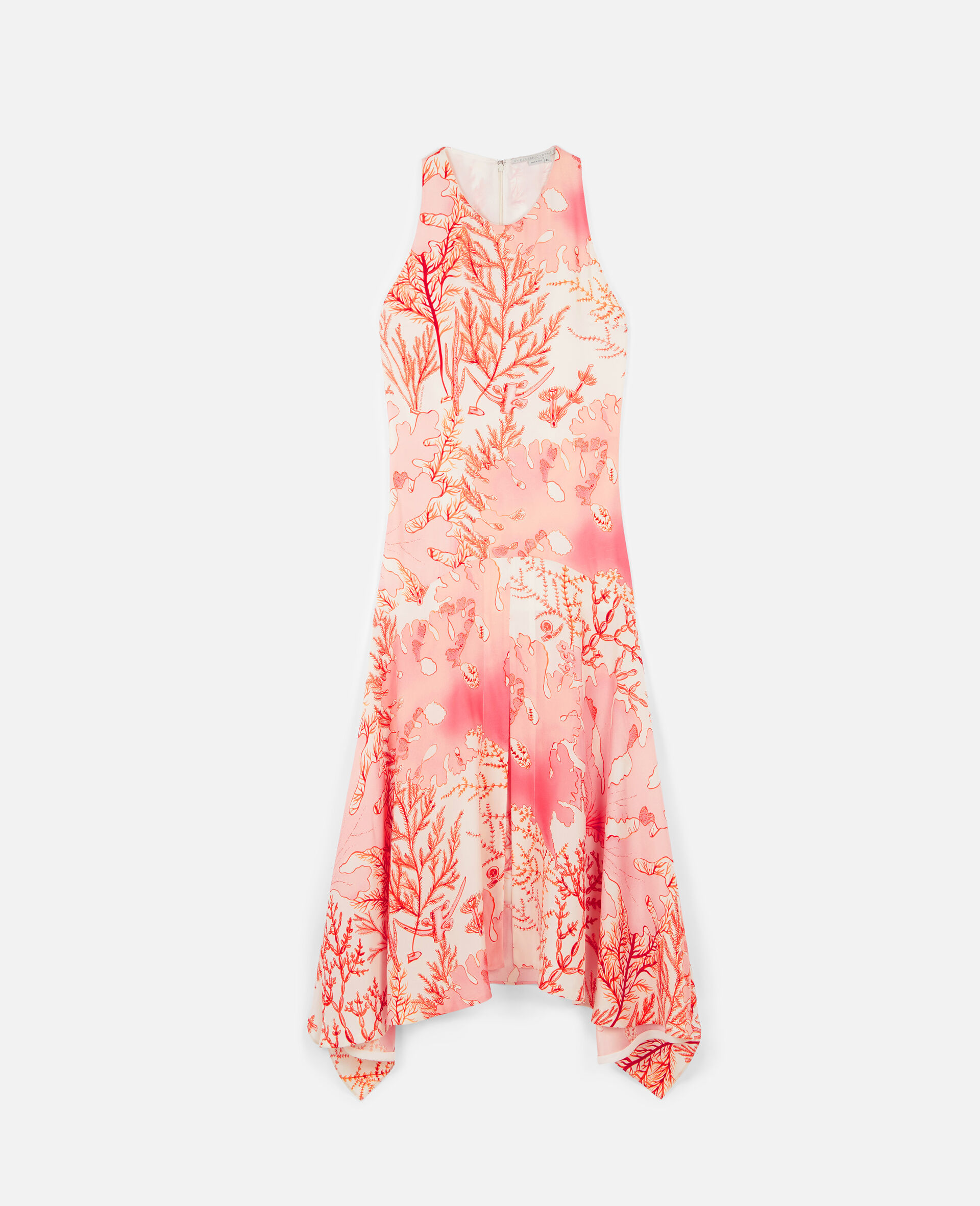 Anabelle Silk Dress-Multicolour-large image number 0