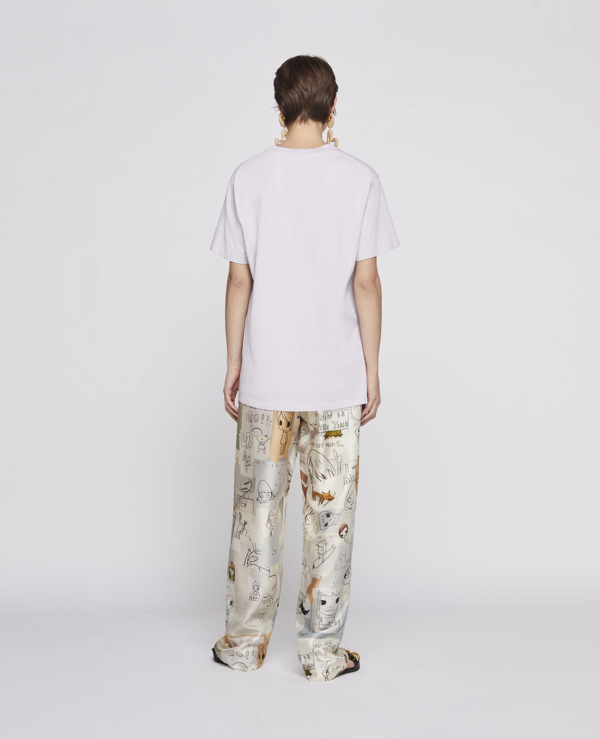 Nara Organic Cotton T-shirt -Purple-large image number 2