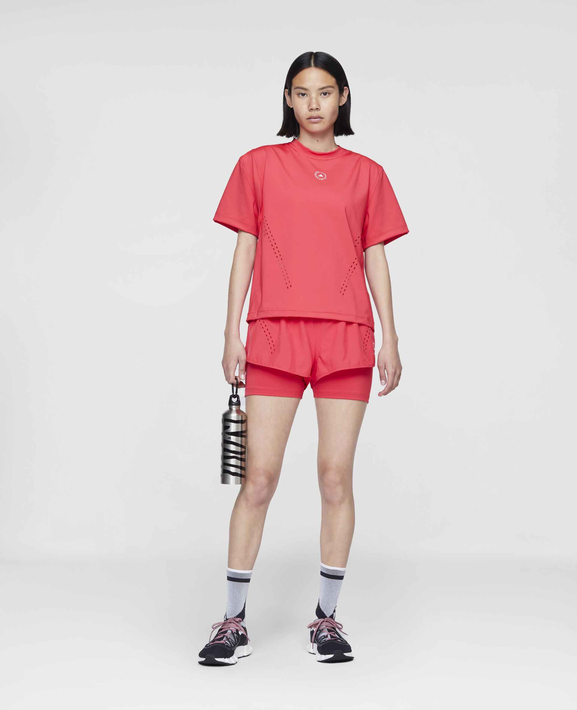 Rosa Trainings-T-Shirt-Rose-large image number 1