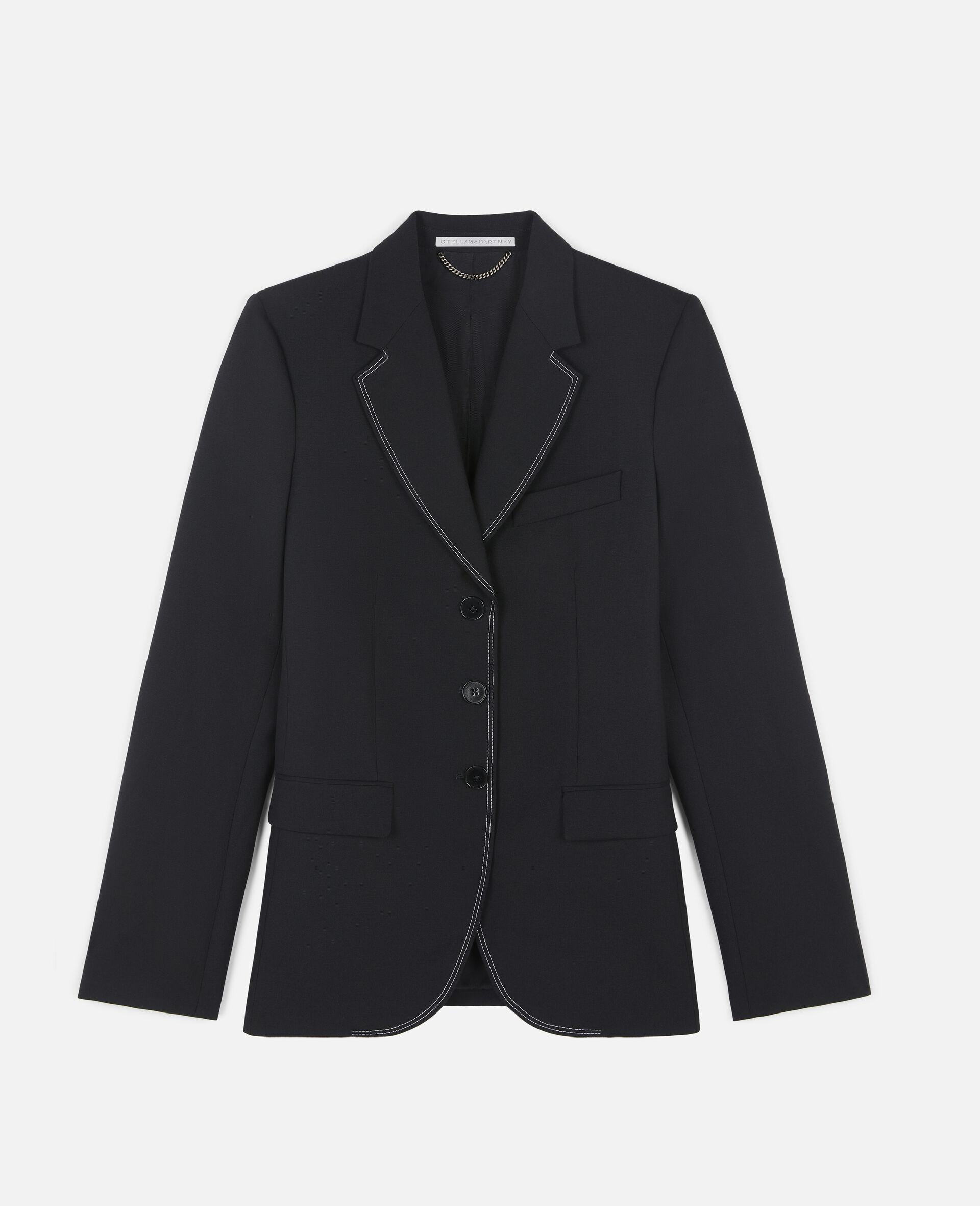 Ada Tailored Jacket -Black-large image number 0