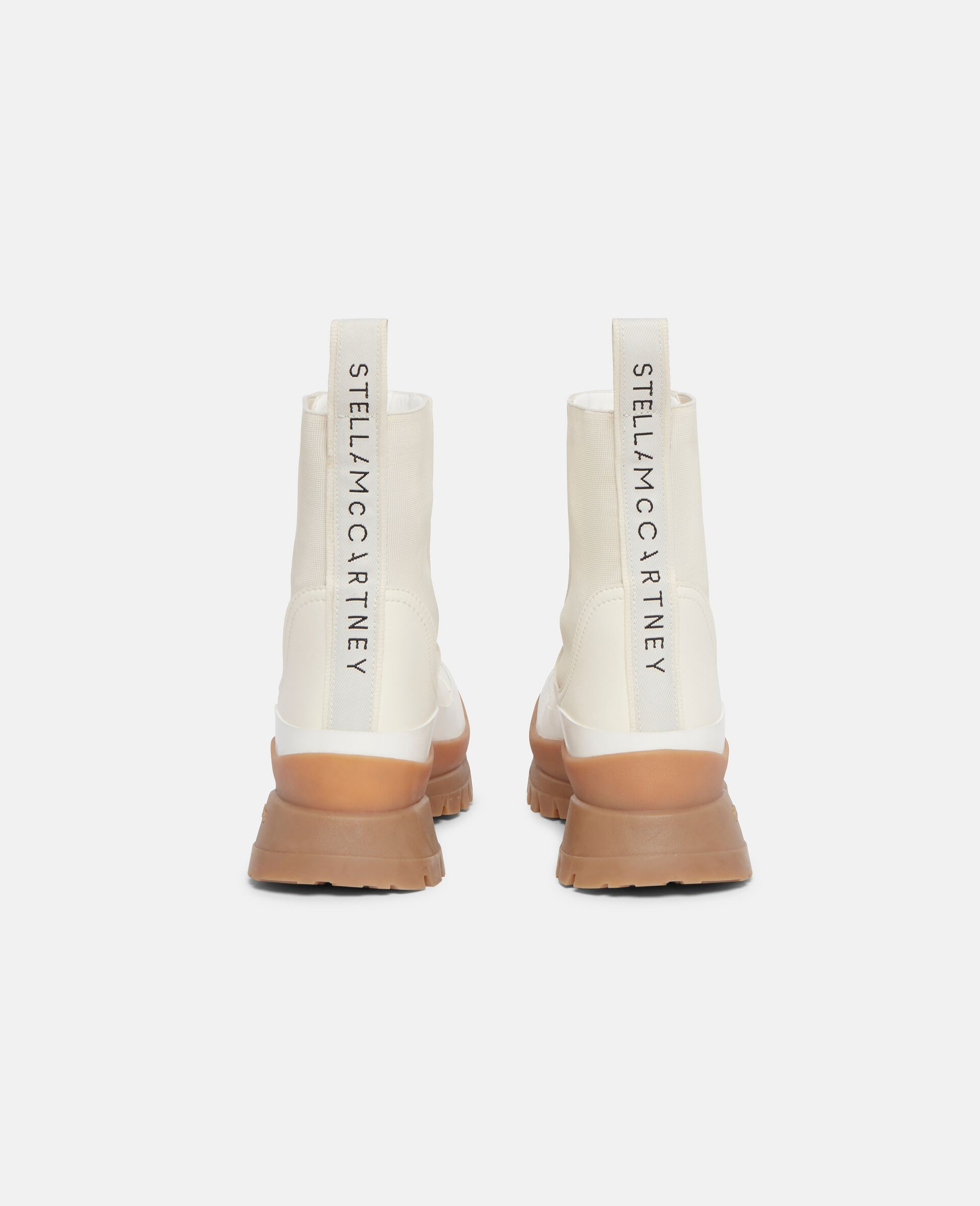Trace Chelsea Boots-White-large image number 2