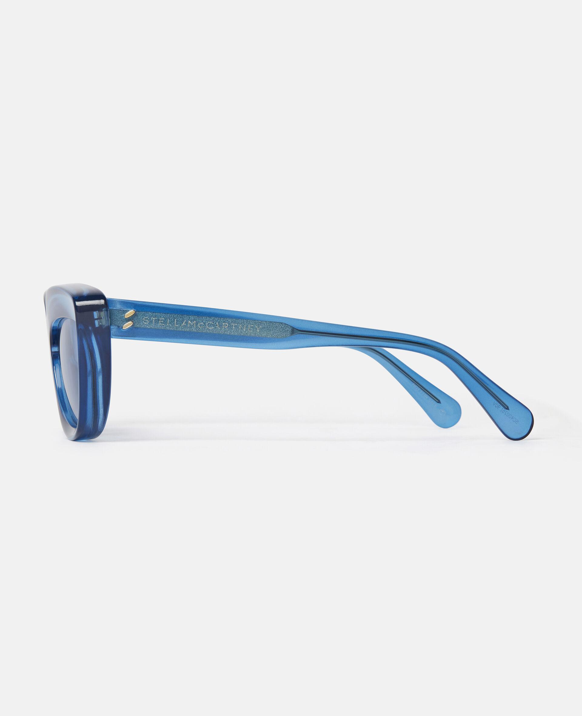 Cat-Eye Sunglasses-Black-large image number 1