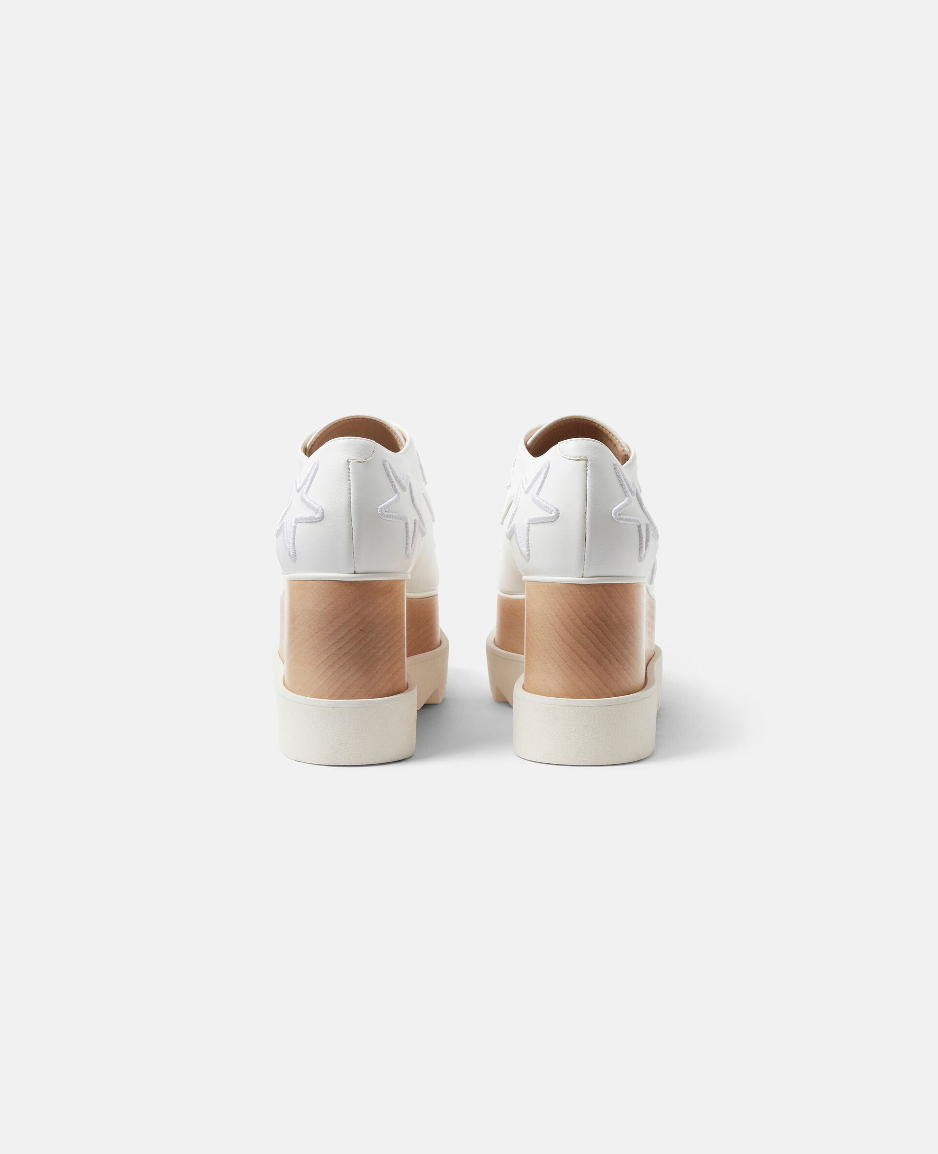 Chaussures compensées Elyse-Blanc-large image number 2