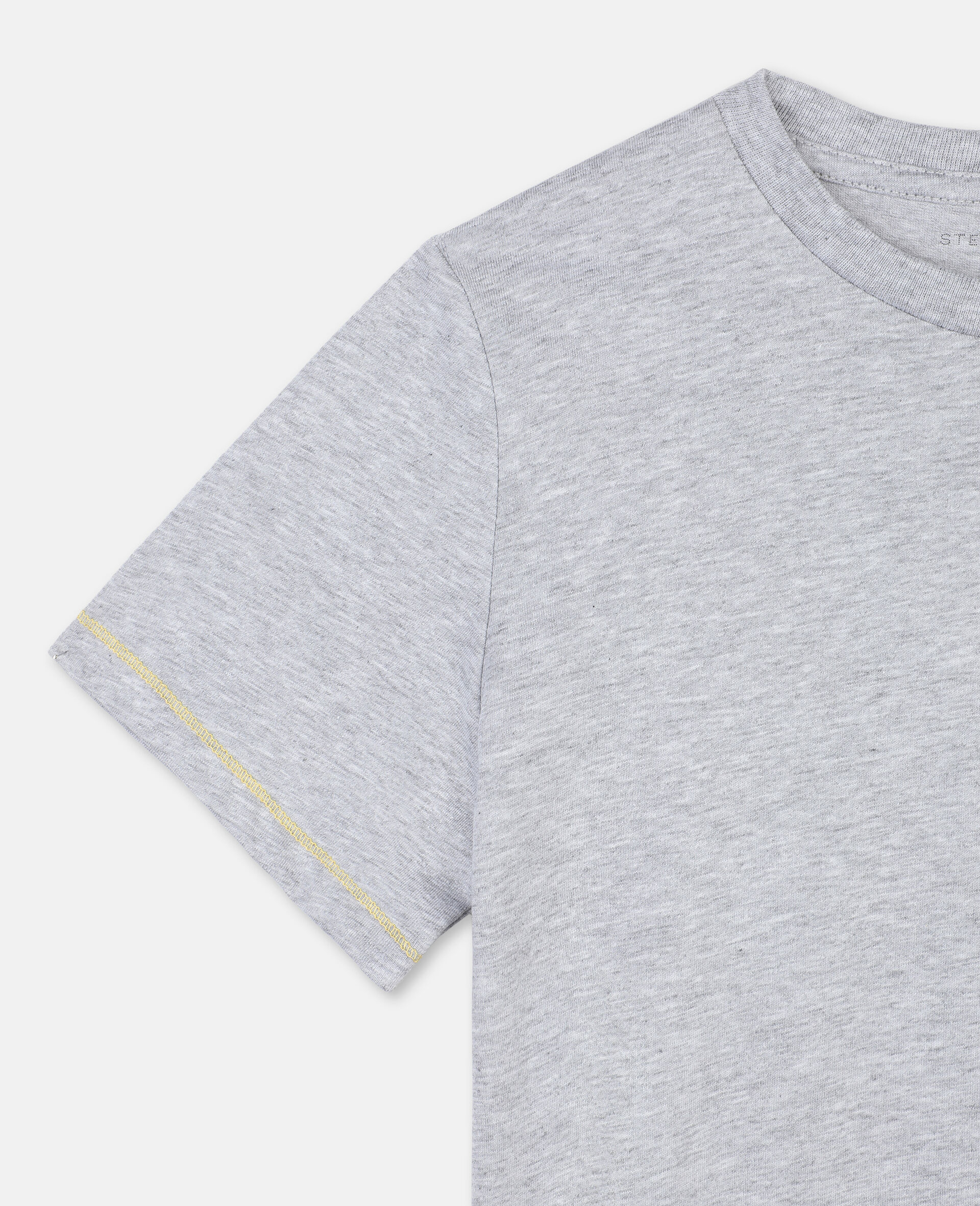 Cheetah 棉质 T 恤-灰色-large image number 2