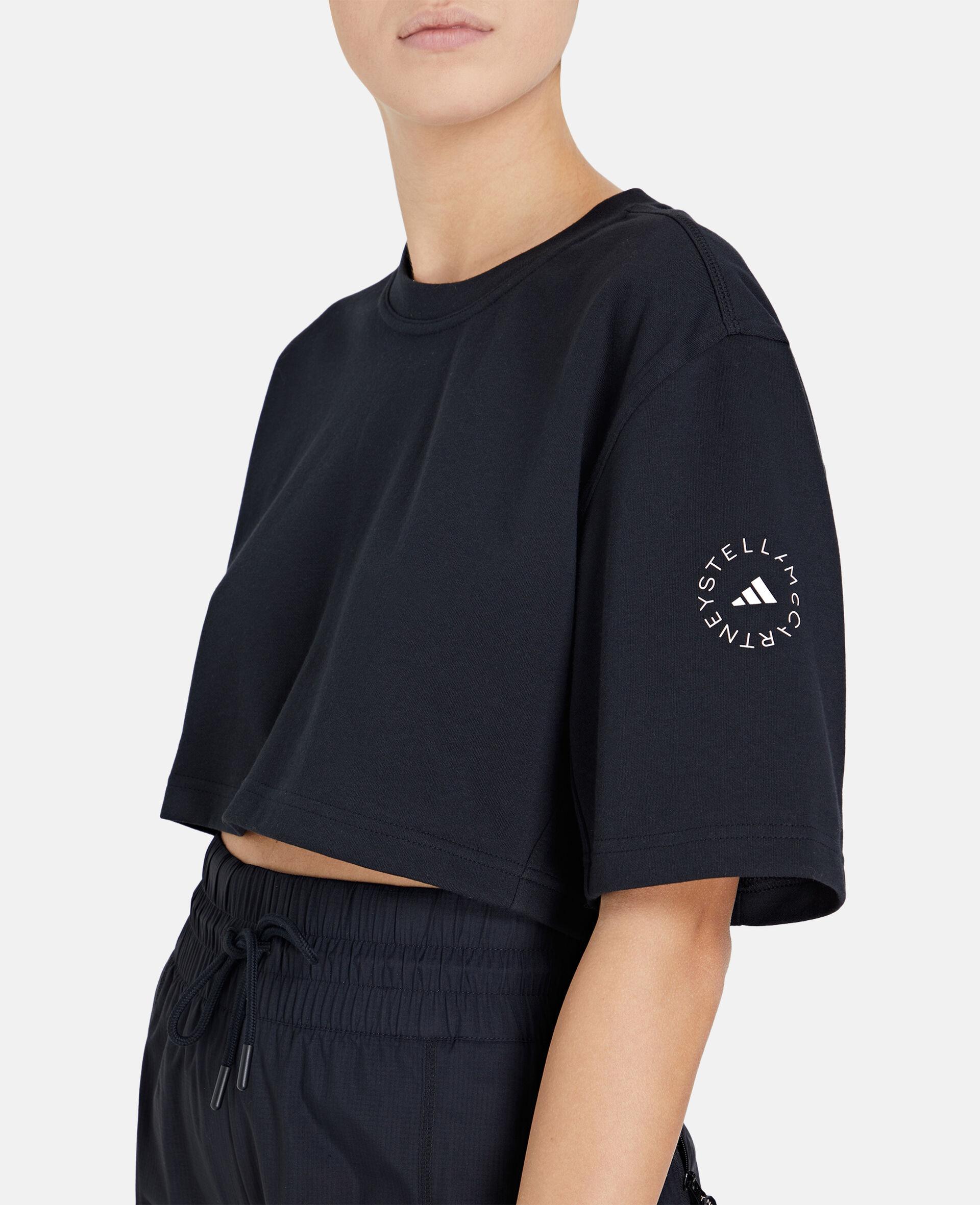 Future Playground Crop T-Shirt-Black-large image number 3
