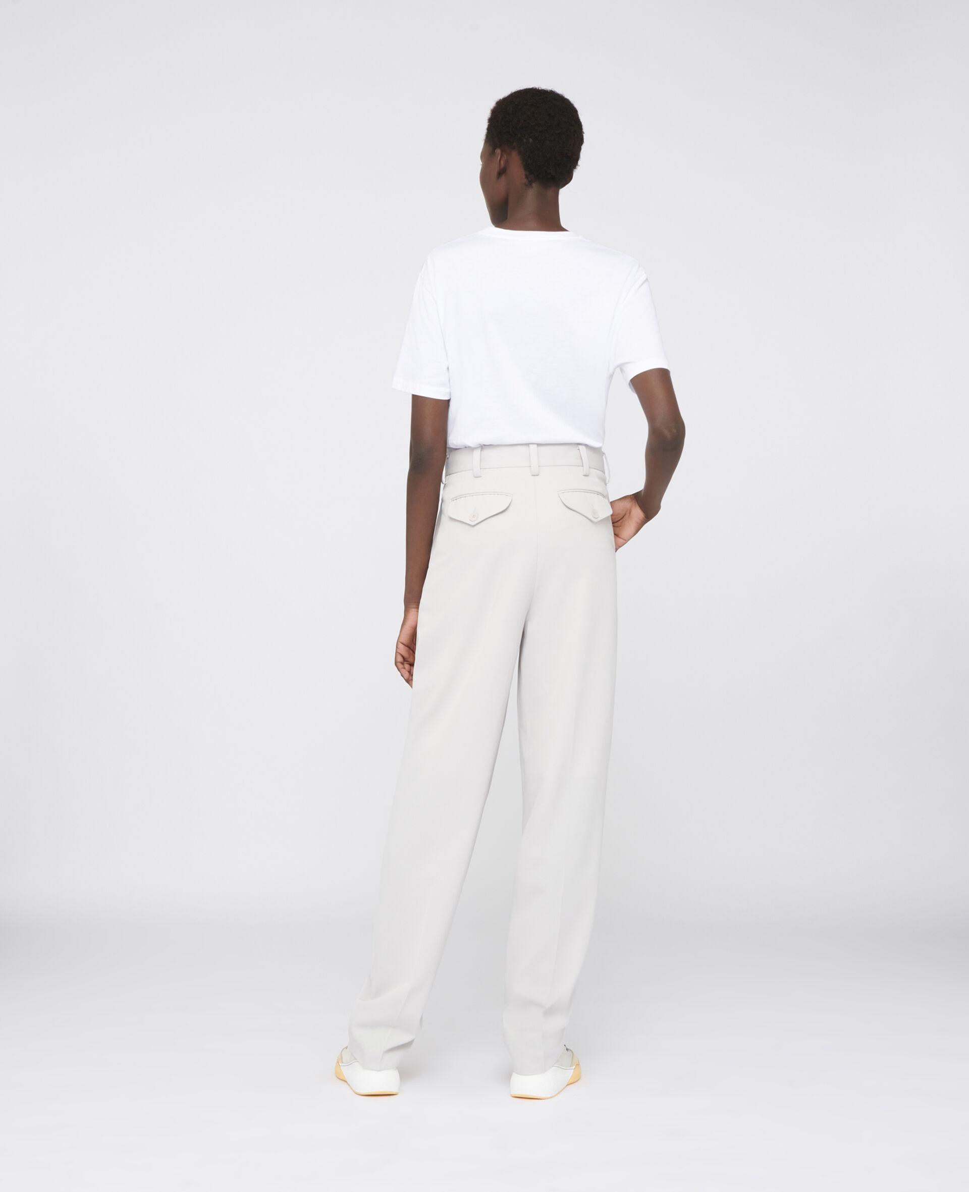 兔子印纹 T 恤 -白色-large image number 2