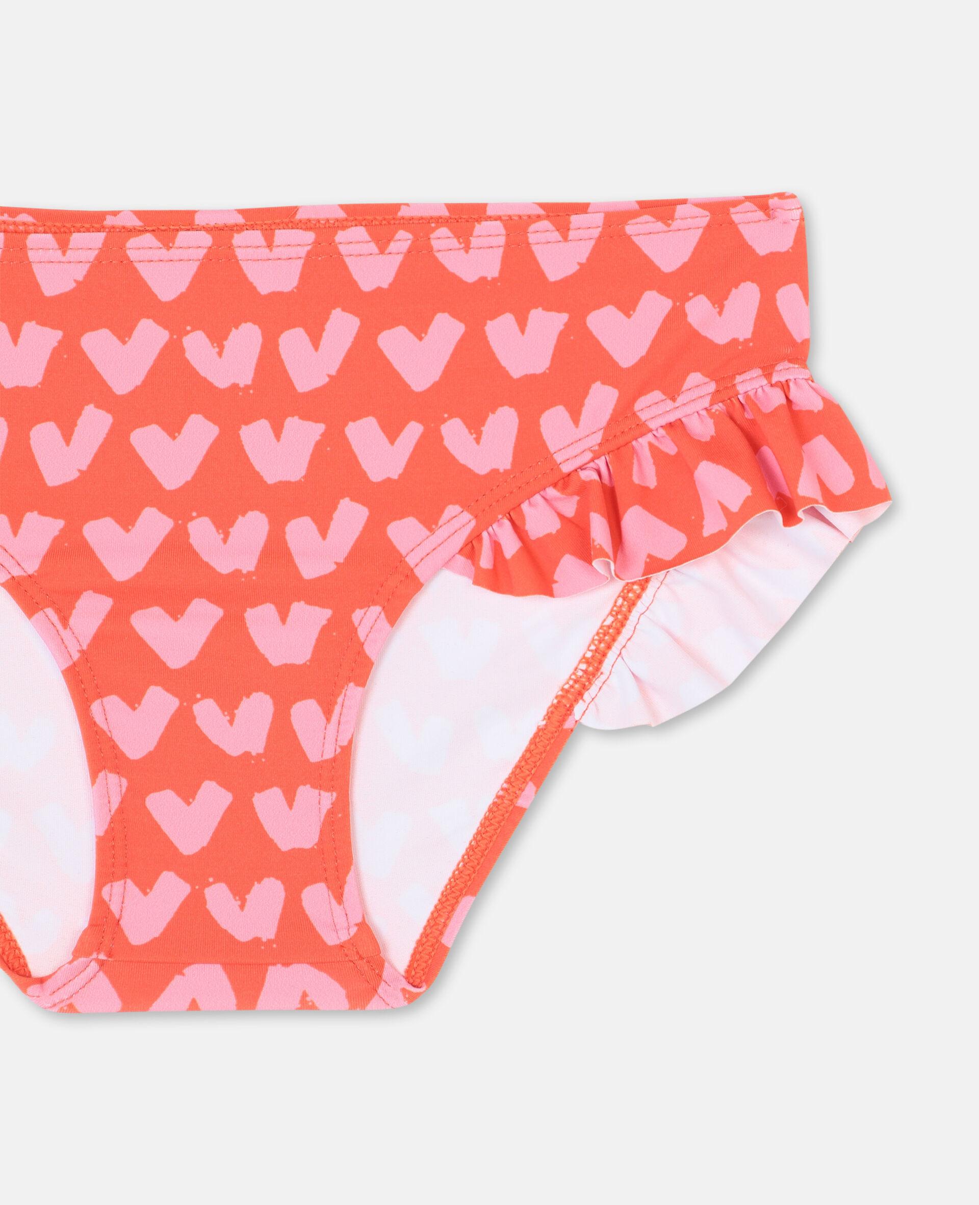 Roter Bikini mit Herzen -Rot-large image number 2