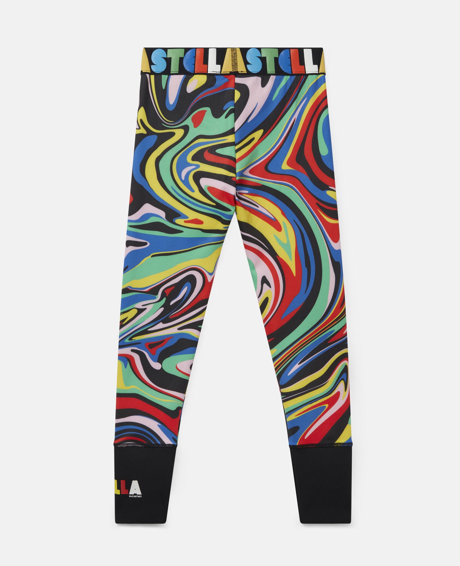 Legging sportif motif marbré -Fantaisie-large image number 3