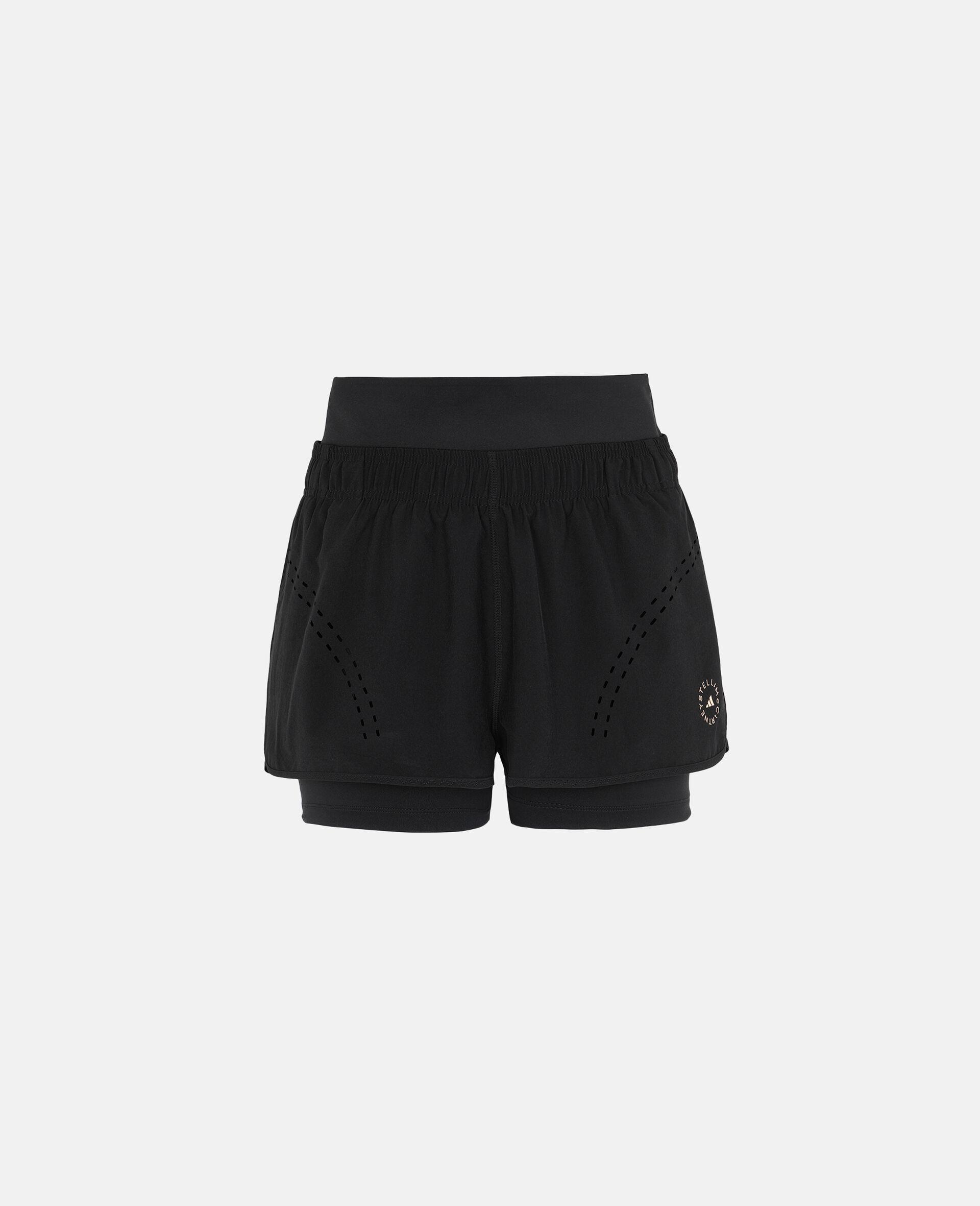 Schwarze TruePurpose Sport-Shorts-Schwarz-large image number 4
