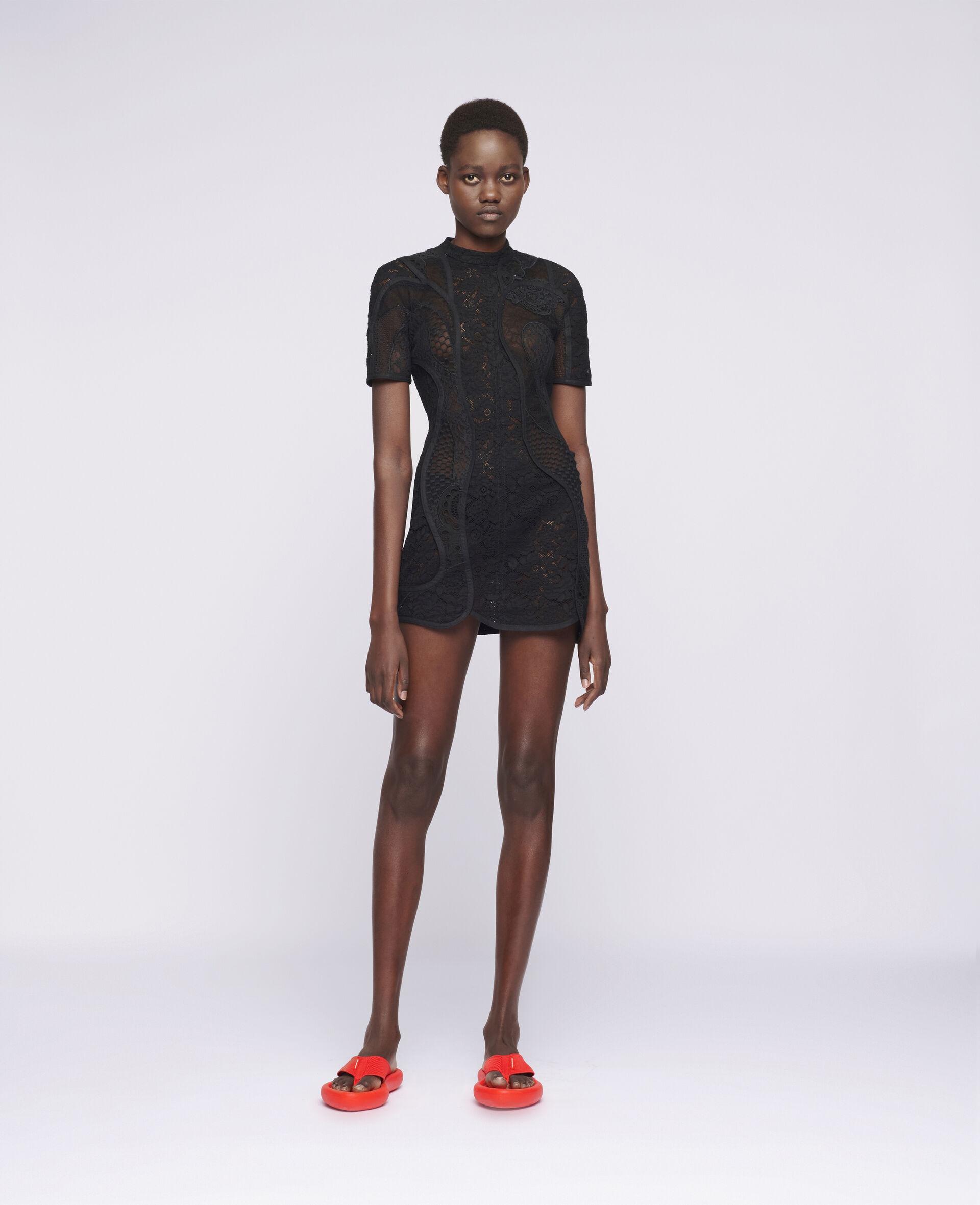 Edith Mini Dress-Black-large image number 1