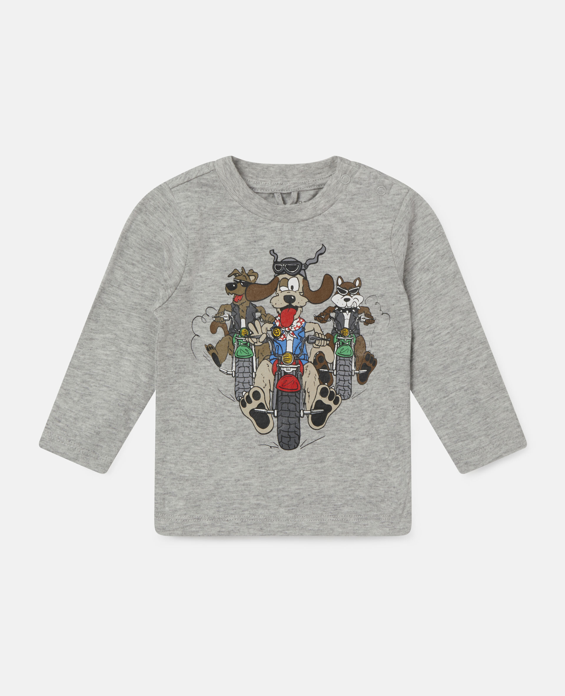 Doggie Riders Top-Grey-large image number 0