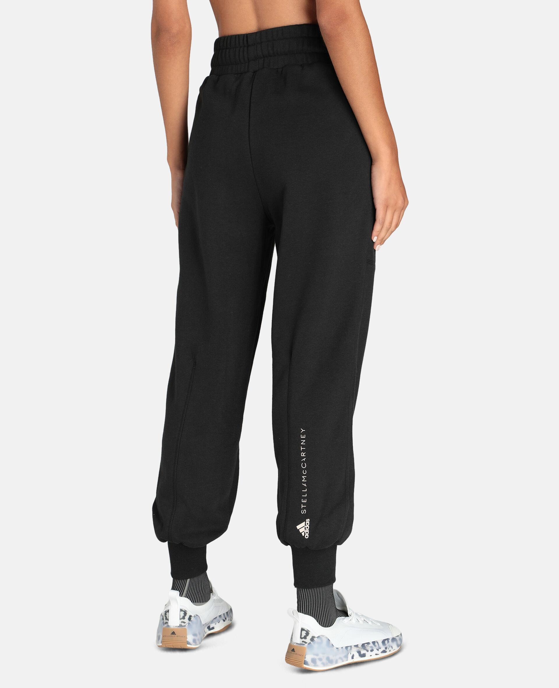 Gray Training Sweatpants-Black-large image number 2