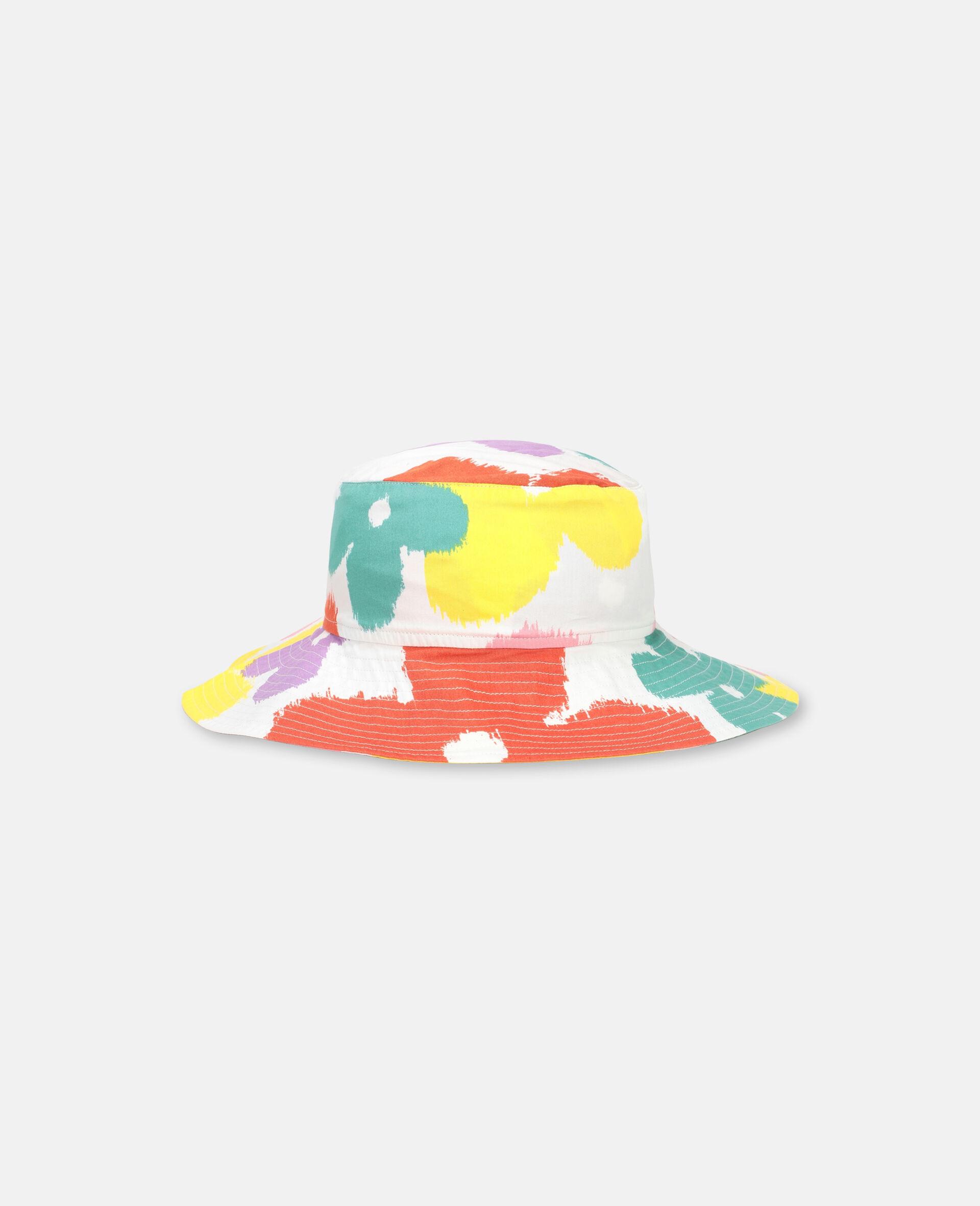 Flower Cotton Hat-Multicolour-large image number 0