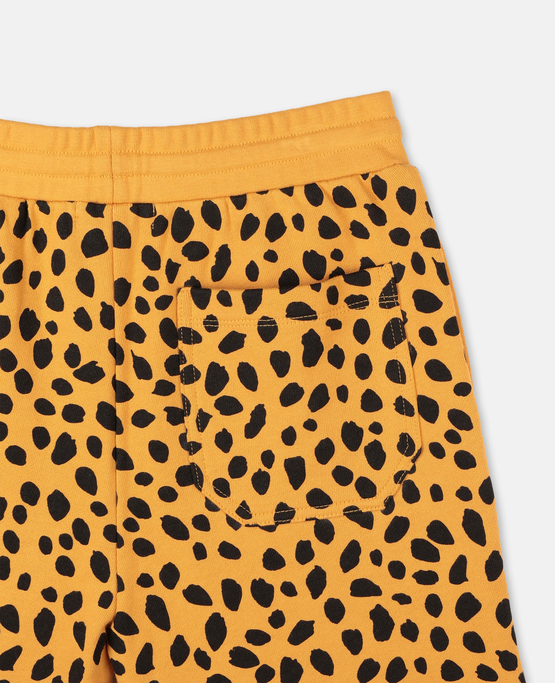 Cheetah Dots Cotton Shorts -Multicoloured-large image number 2