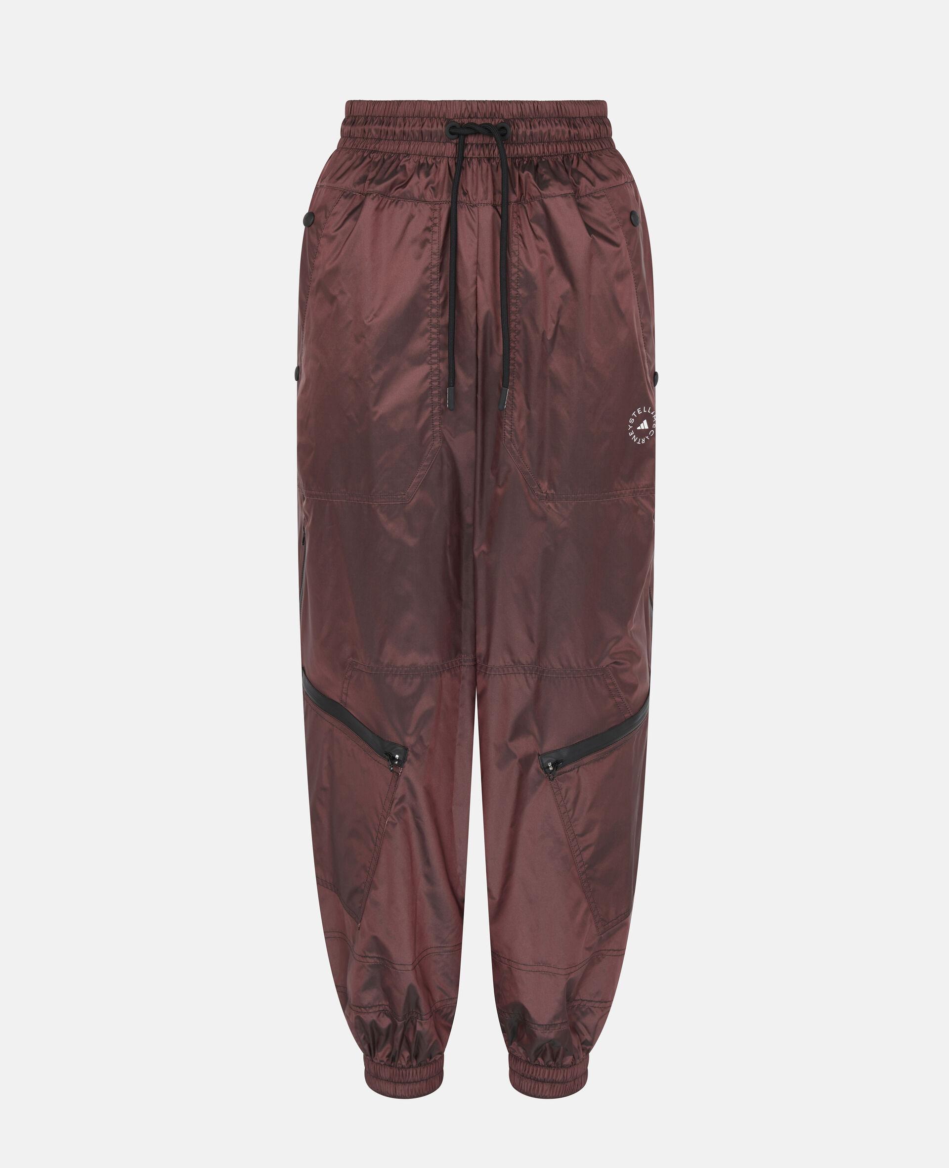 勃艮第色训练长裤-红色-large image number 0