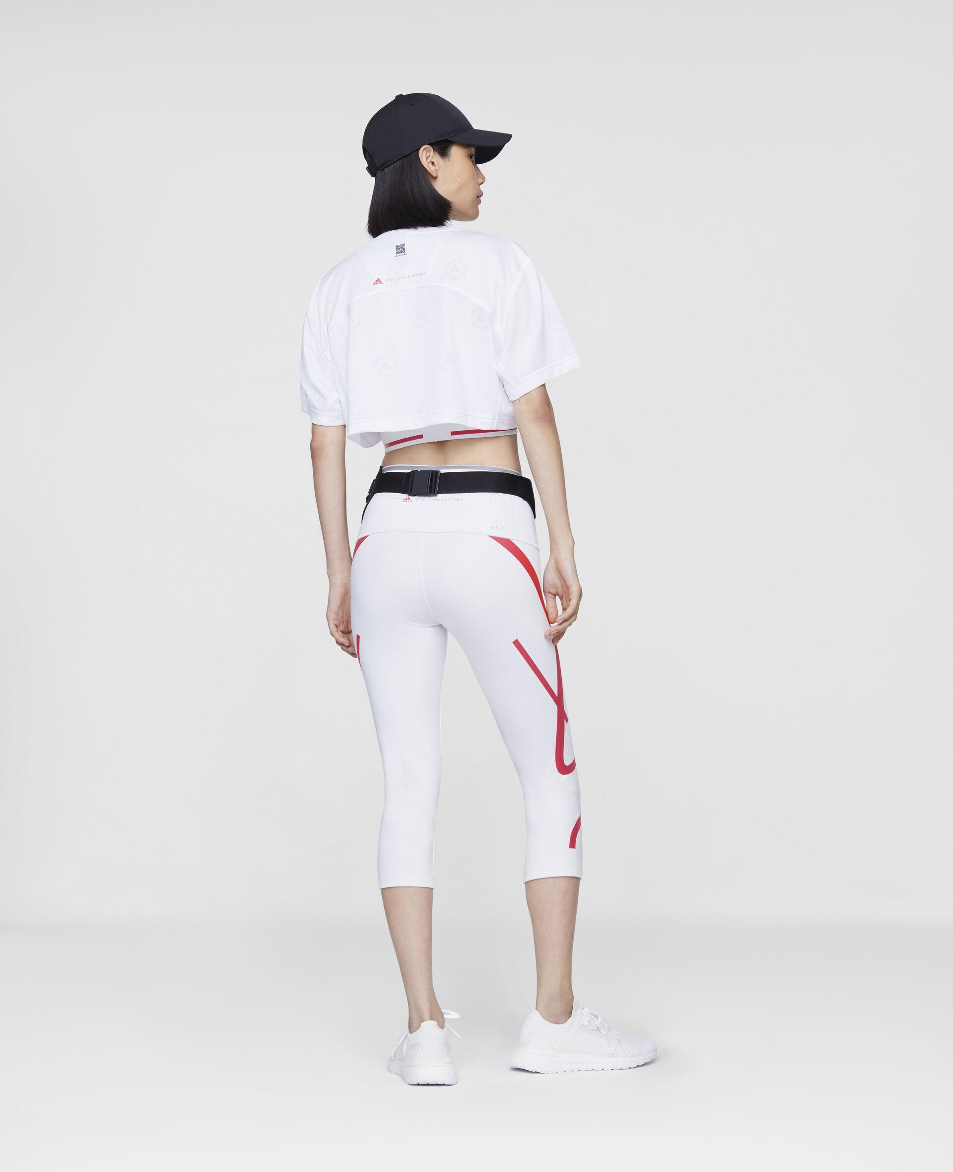 短款 T 恤-白色-large image number 2