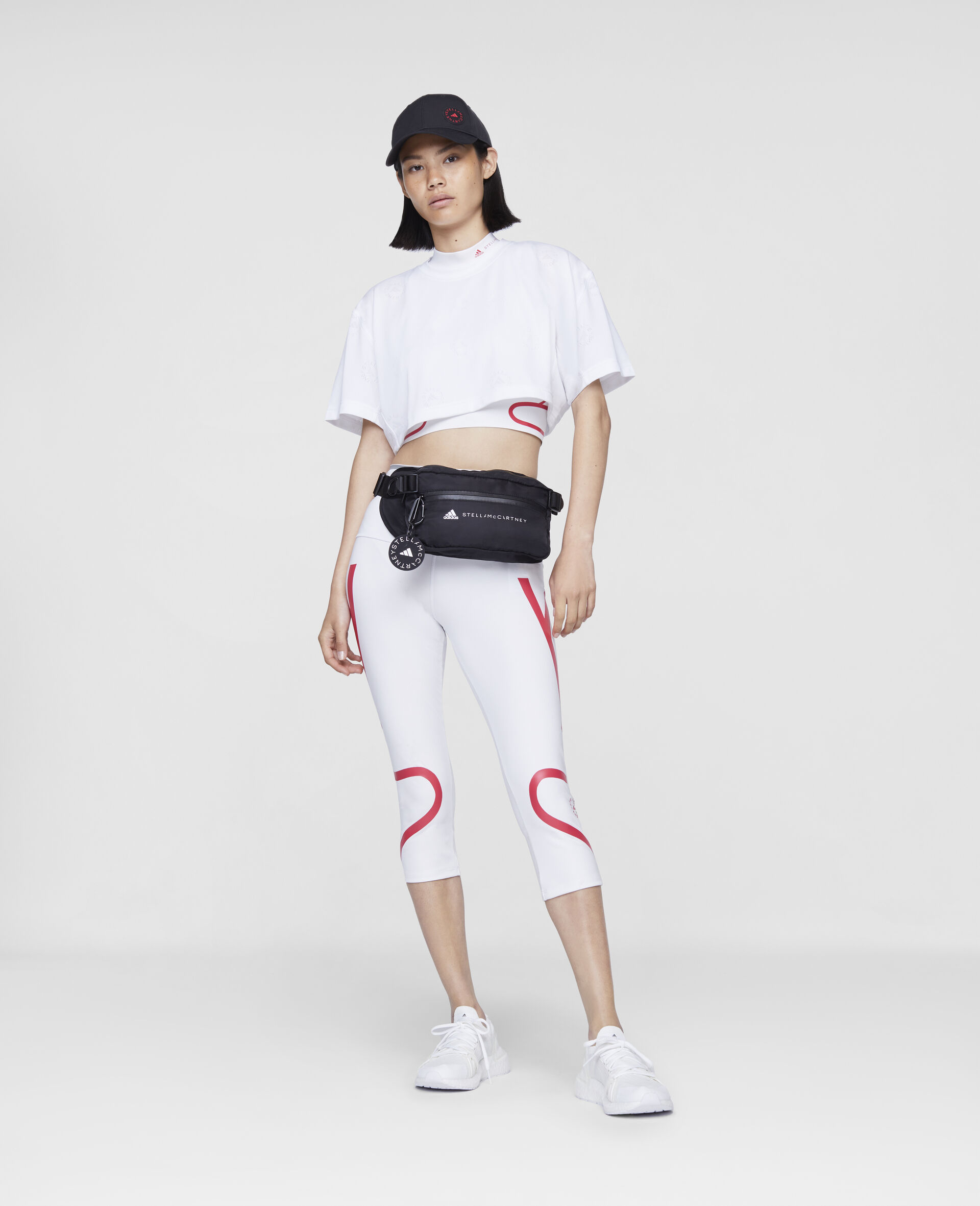 Crop T-Shirt-Bianco-large image number 1
