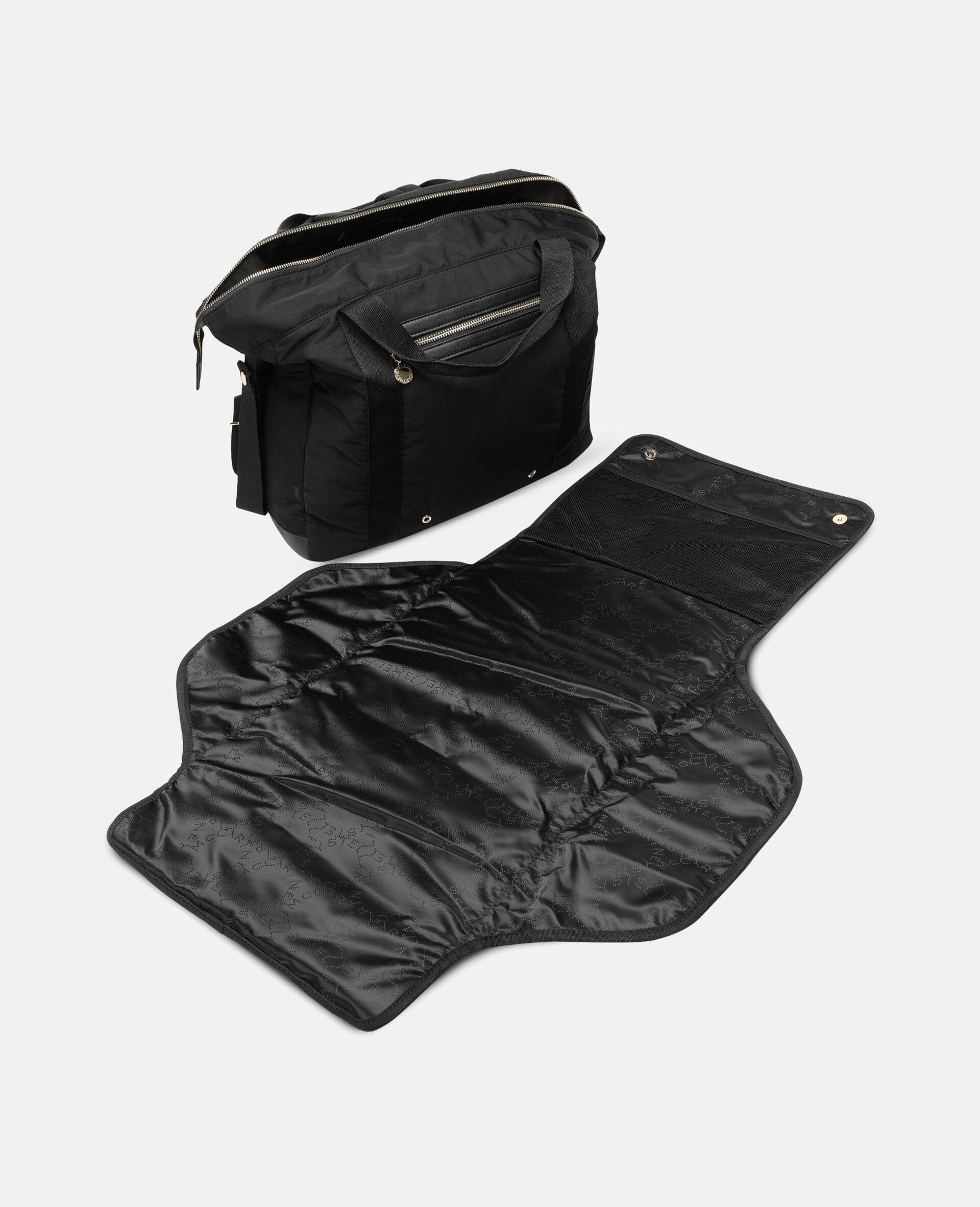 Diaper Backpack-Black-large image number 2