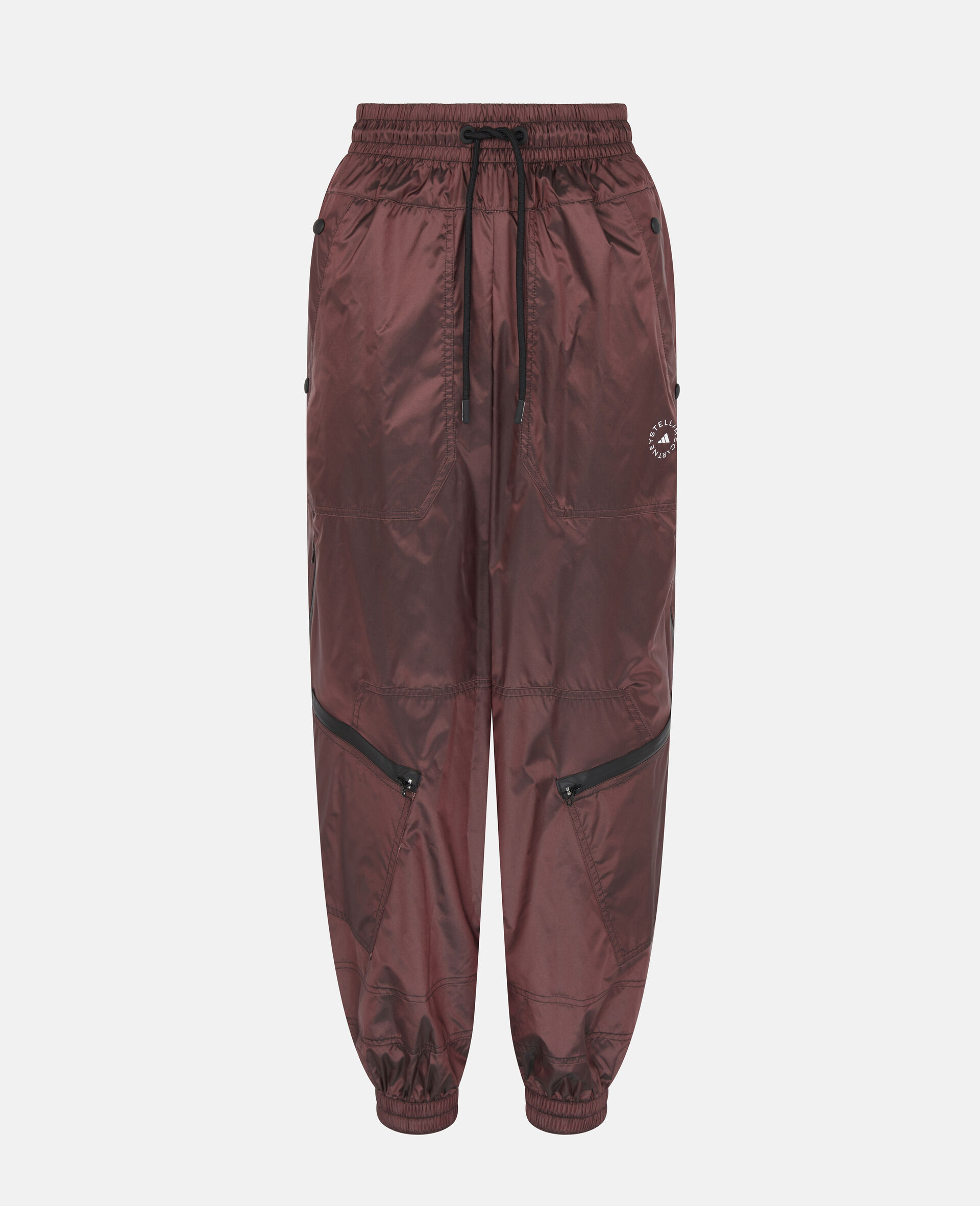 Burgundy Training Trousers-Red-large image number 0