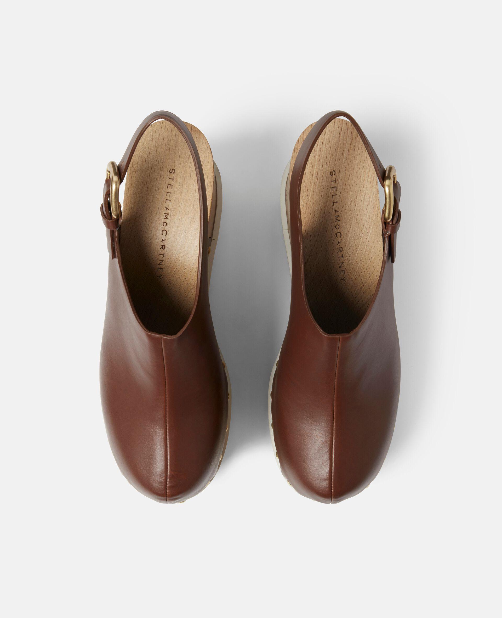 Elyse Stud Hardware Sandals-Brown-large image number 3