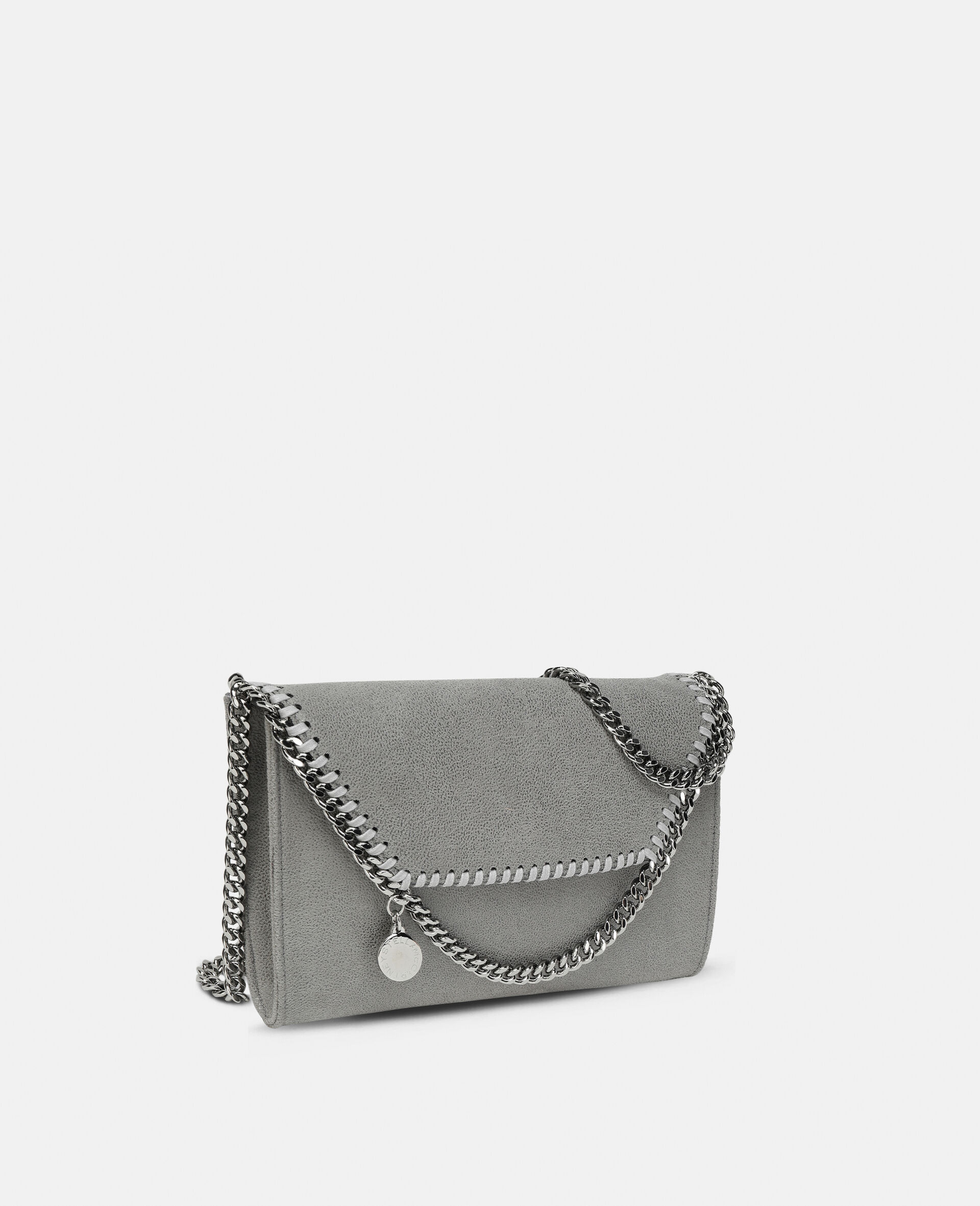 Falabella Mini Shoulder Bag-Grey-large image number 1