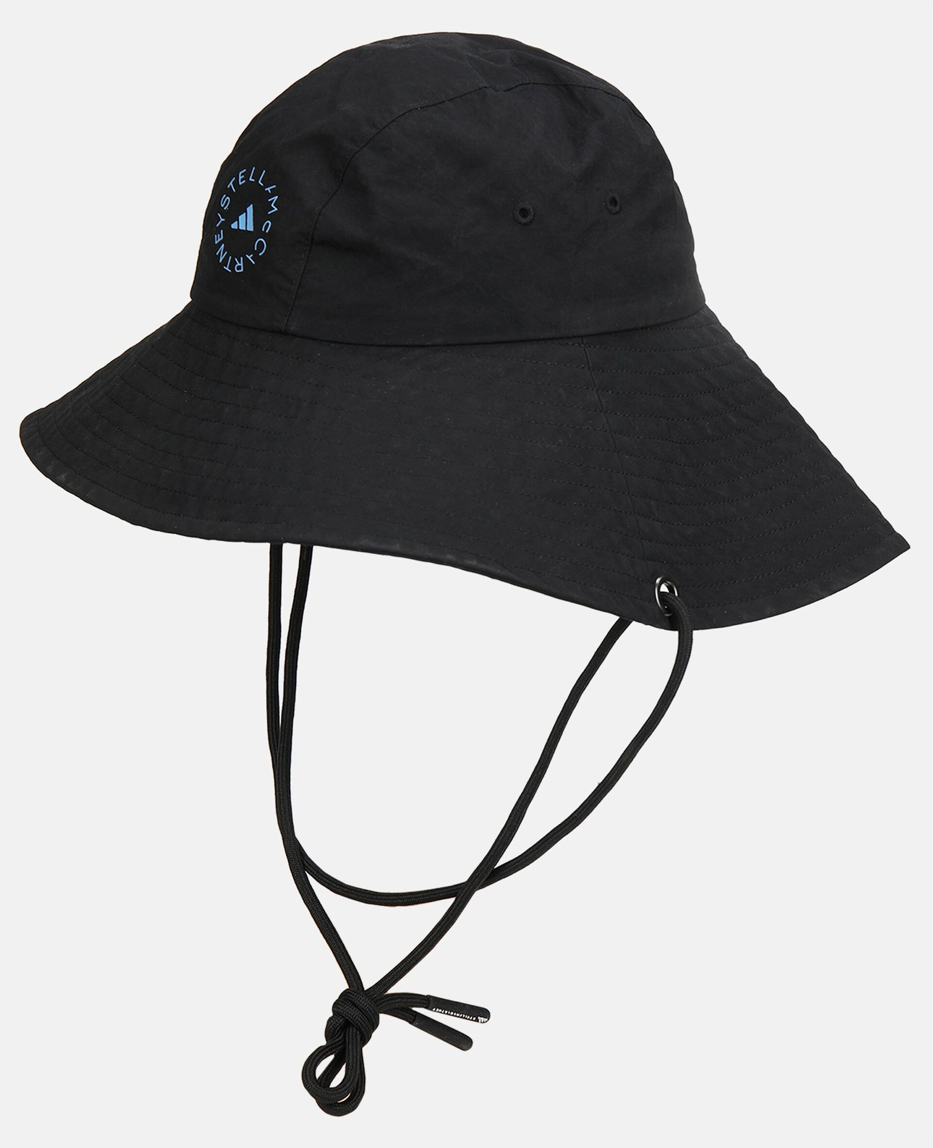 Black Bucket Hat -Black-large image number 0