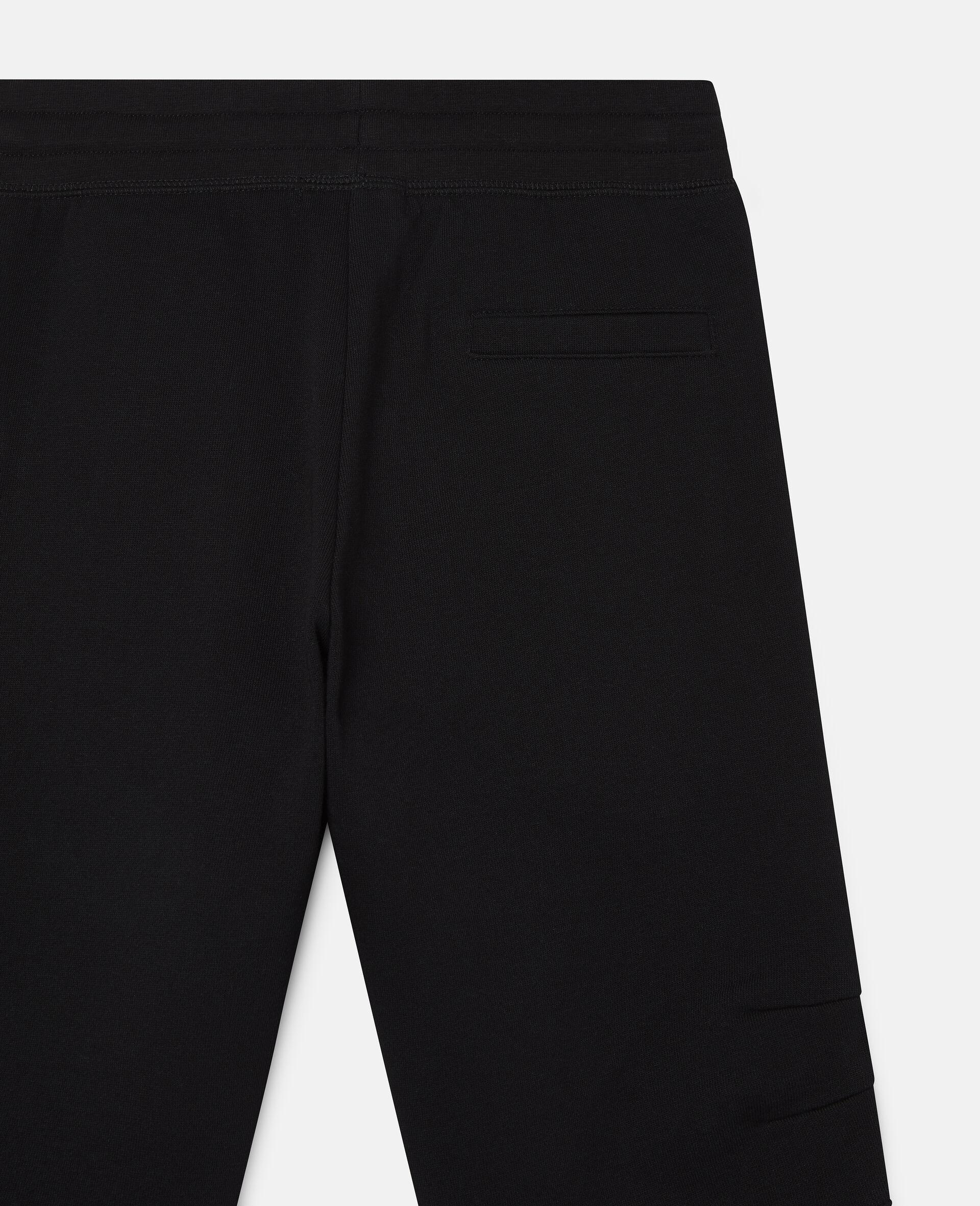 Fleece Joggers-Black-large image number 1