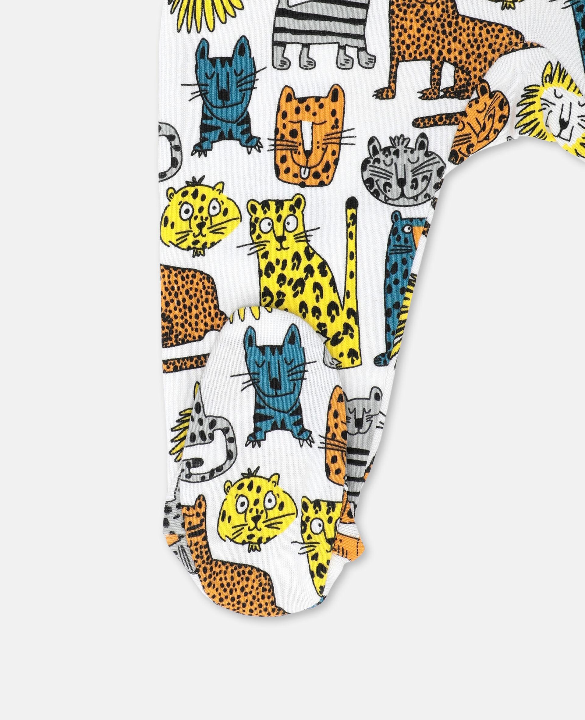 Wild Cats Jersey Rib Maternity Set -Multicoloured-large image number 2