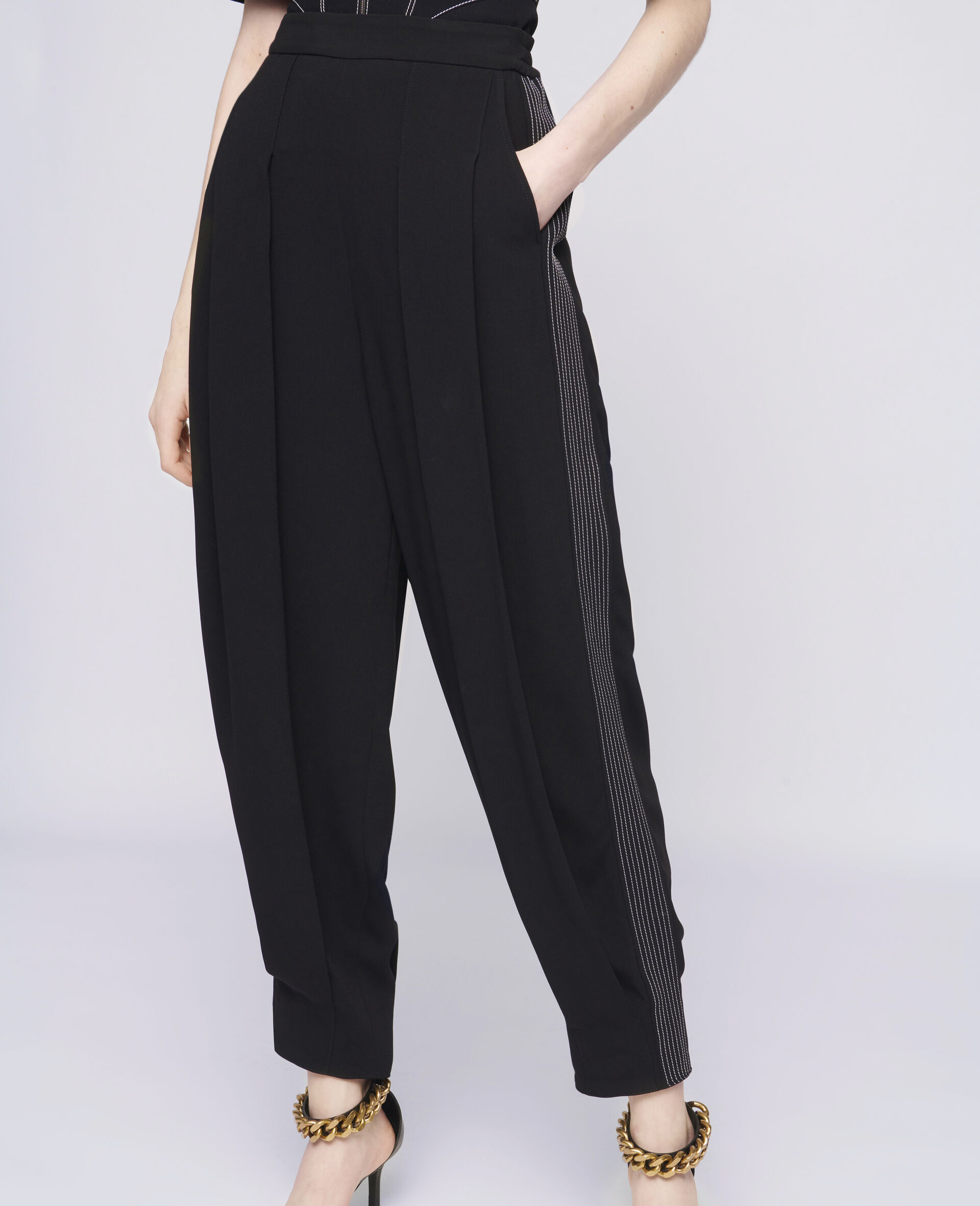 Christelle Trousers-Black-large image number 3