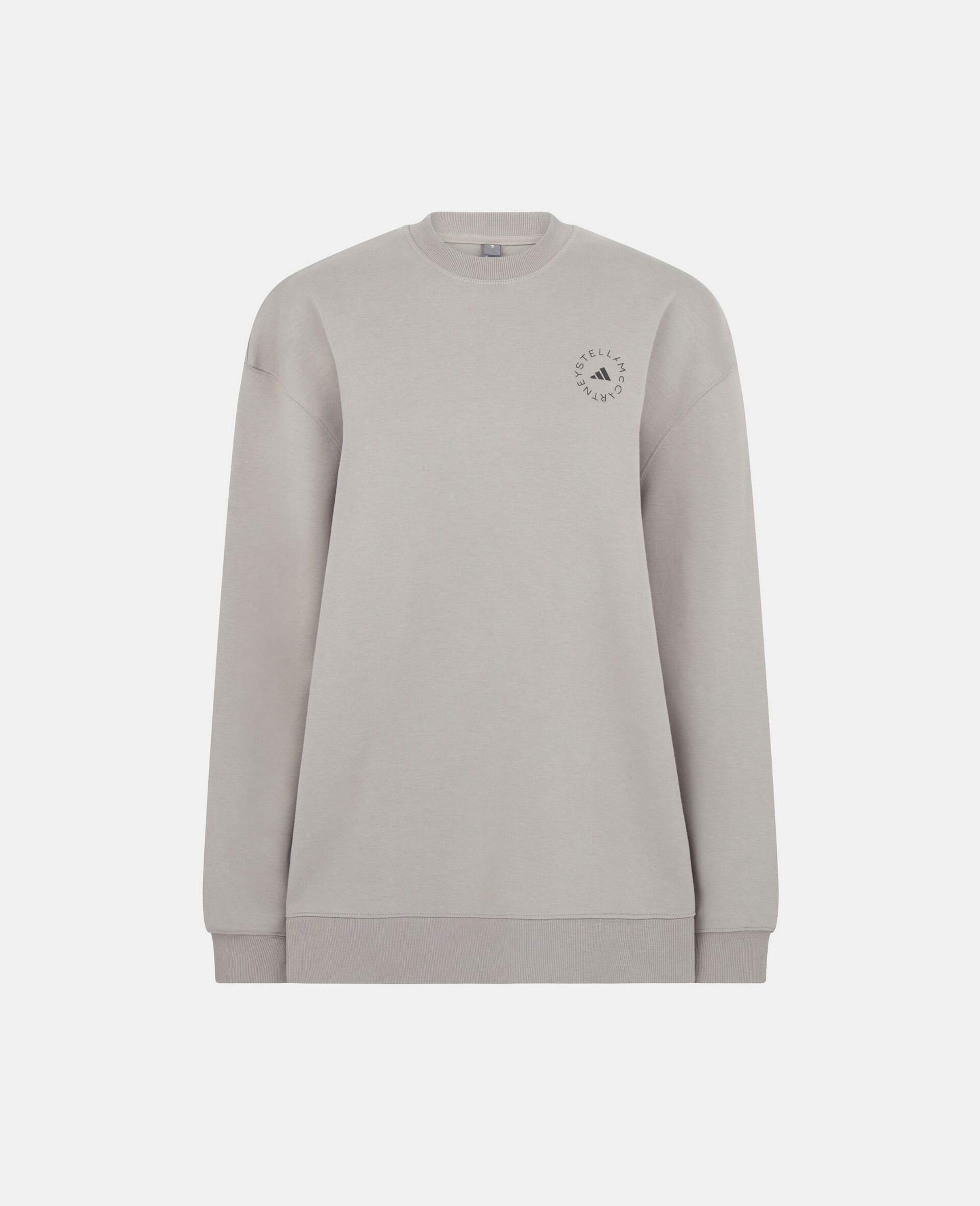 Grey Training Sweatshirt-Grey-large image number 0