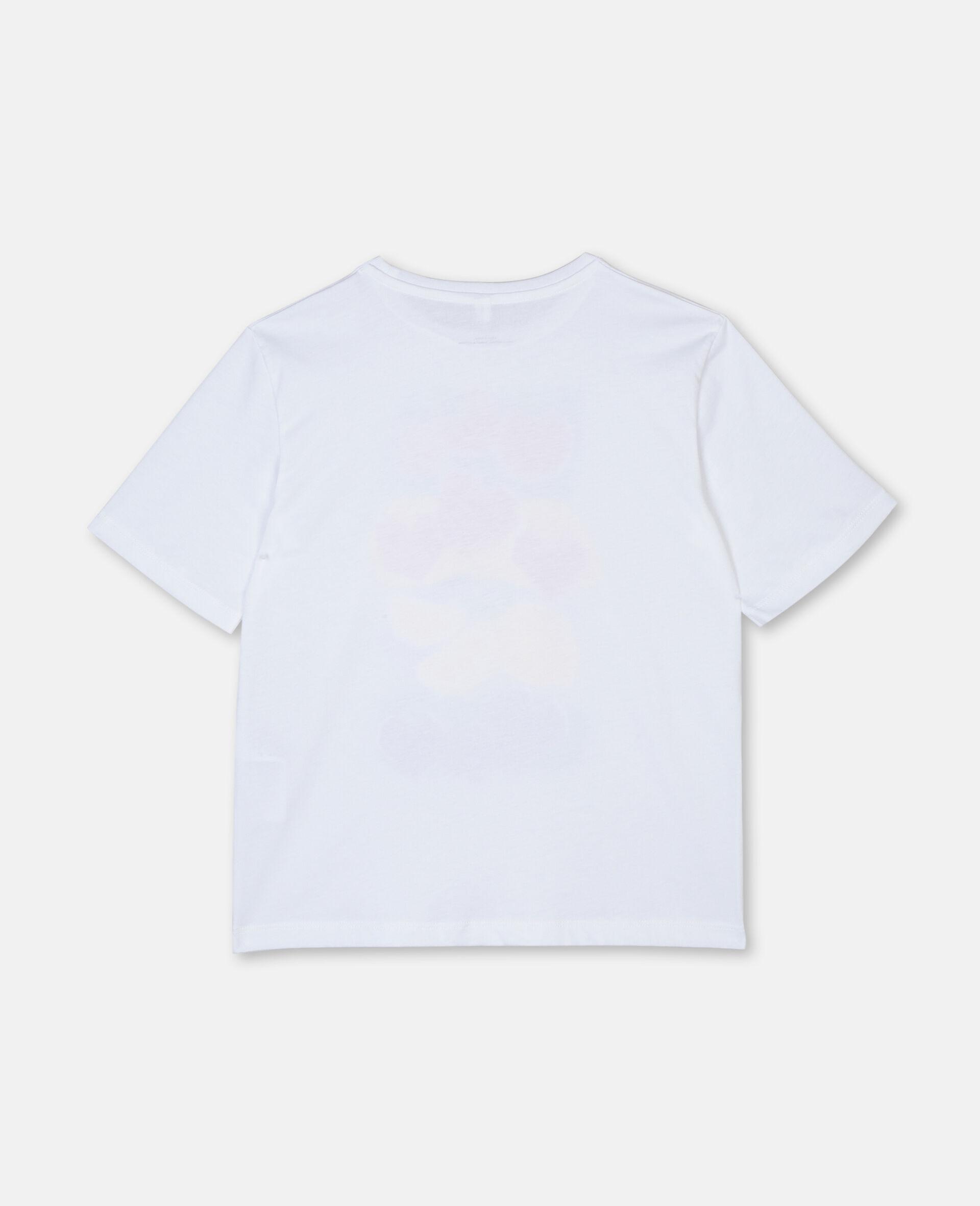 Fruit Oversize Cotton T-shirt-Pink-large image number 2