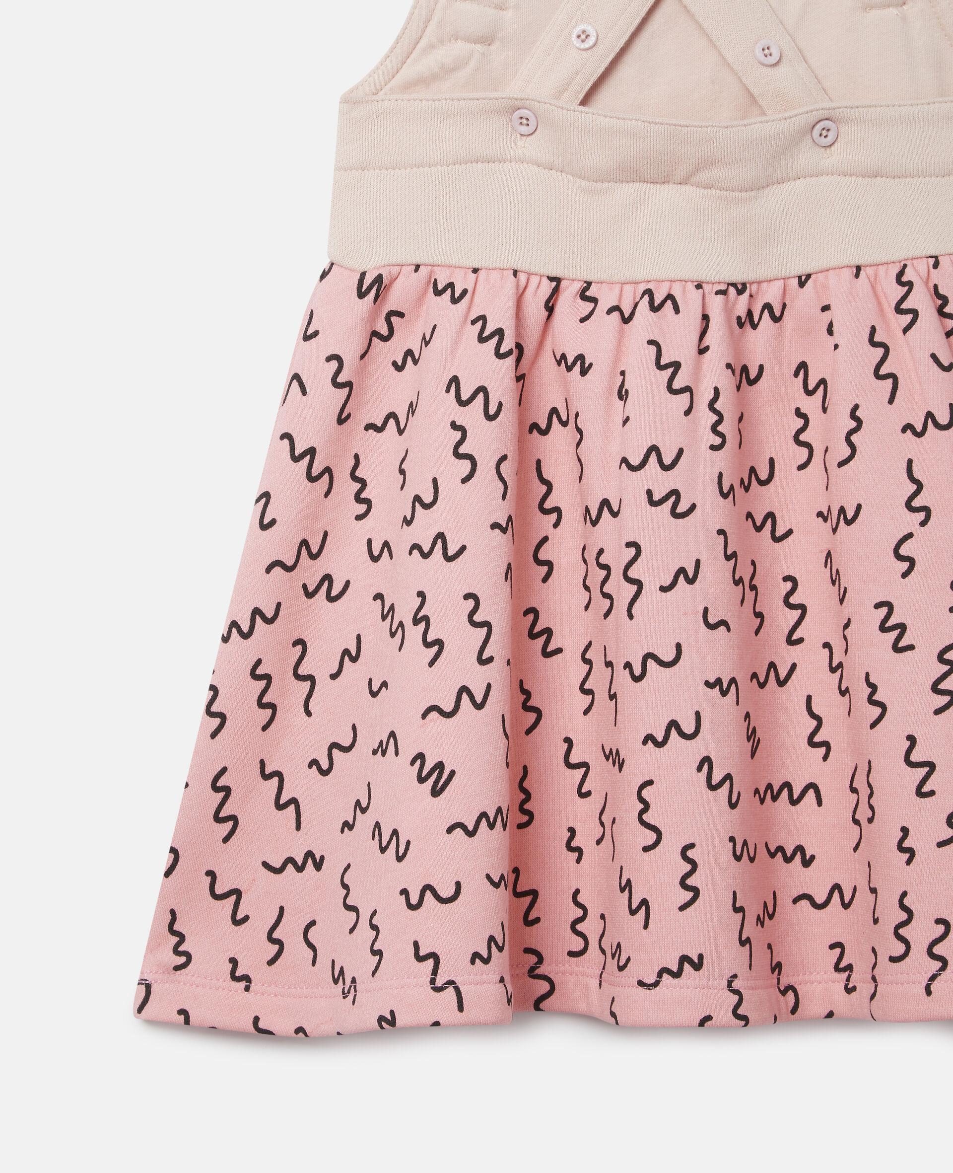 Doodle Poodle Fleece Dress-Pink-large image number 1