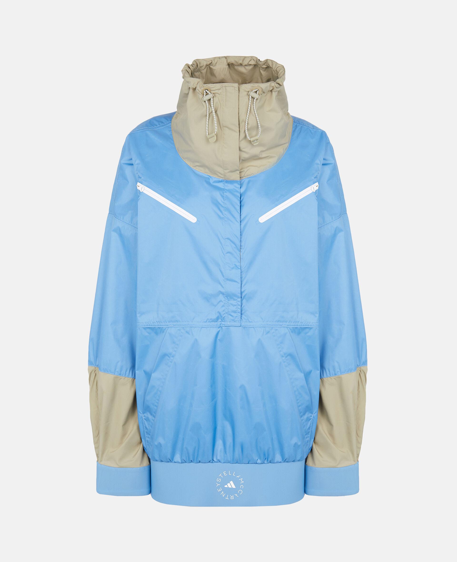 Beach Defender Jacke mit halbem Reißverschluss-Blau-large image number 0