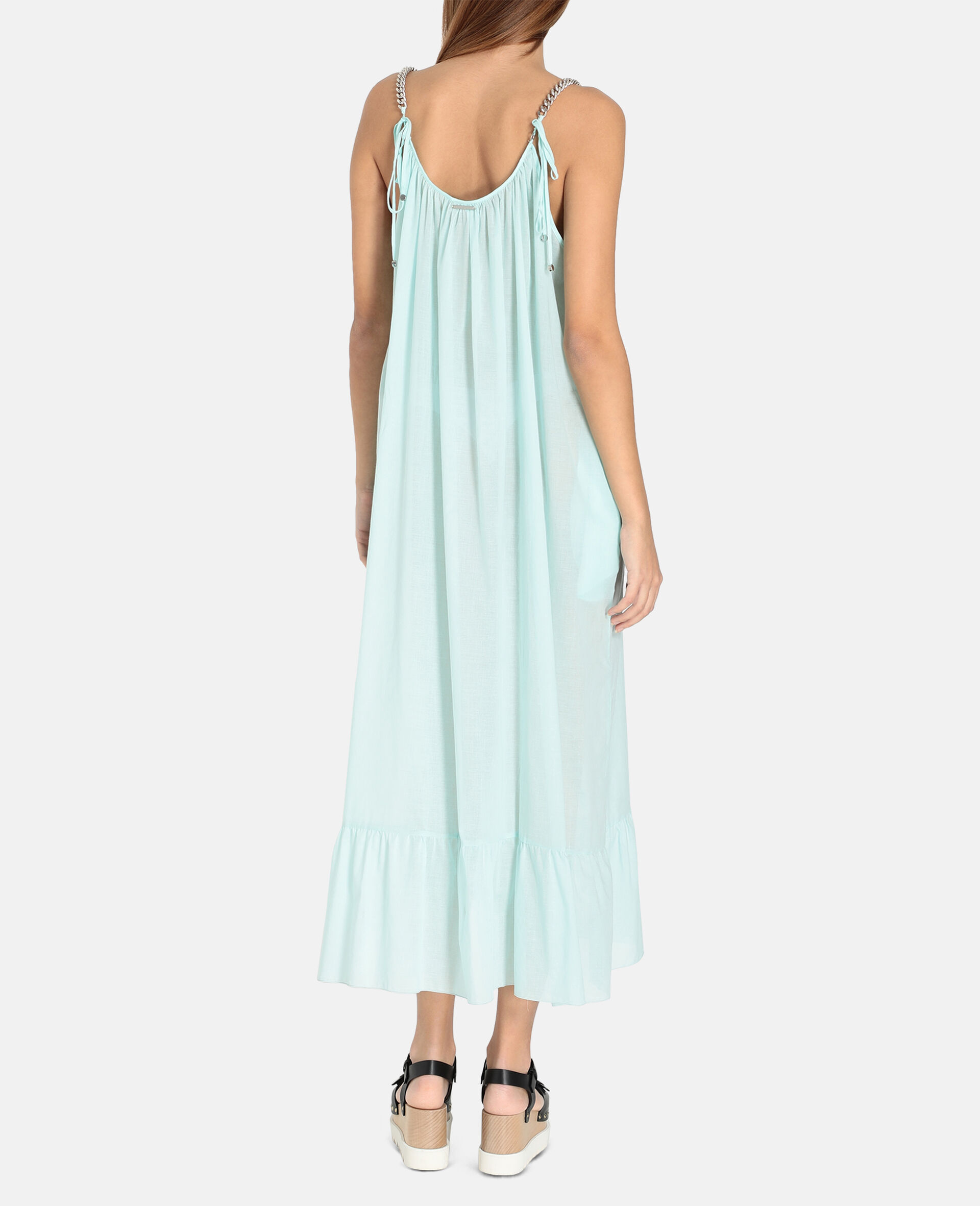 Iconic Chain Long Dress-Mint-large image number 2