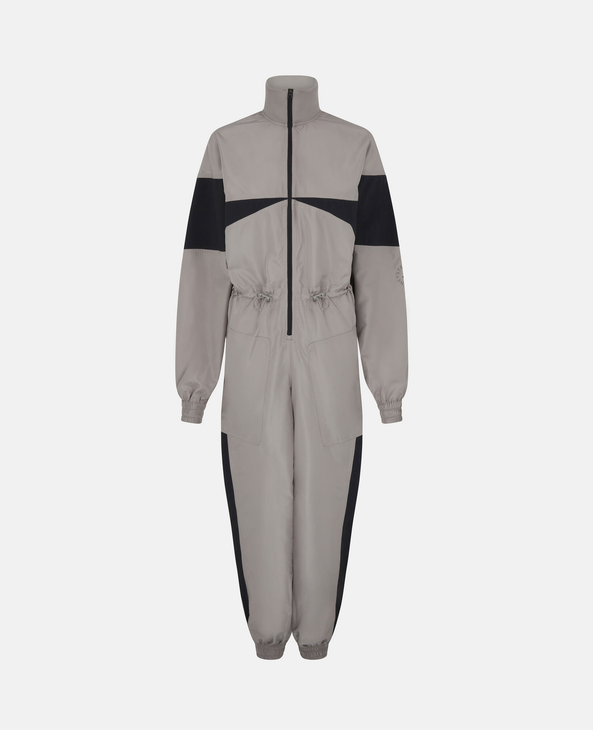 Earth Protector Woven Jumpsuit-Grey-large image number 0