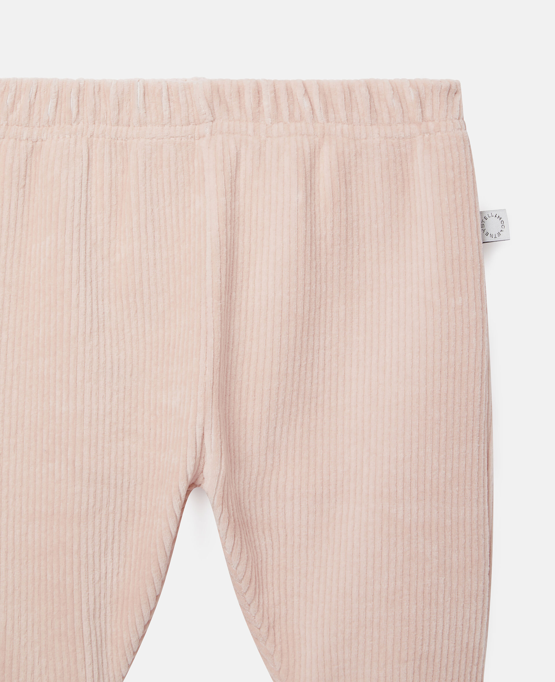 Pantalon de jogging en velours-Rose-large image number 2