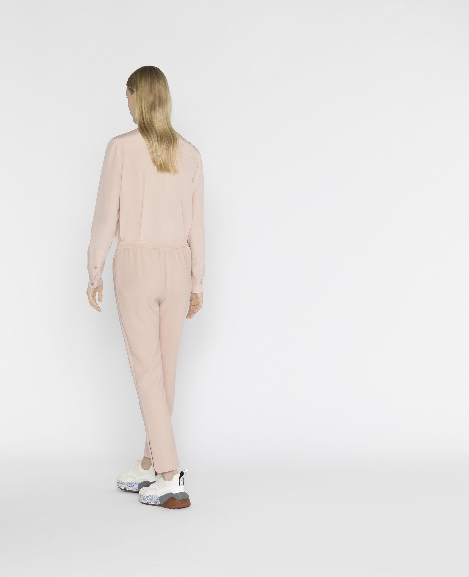 Camicia Eva in Seta-Rosa-large image number 2