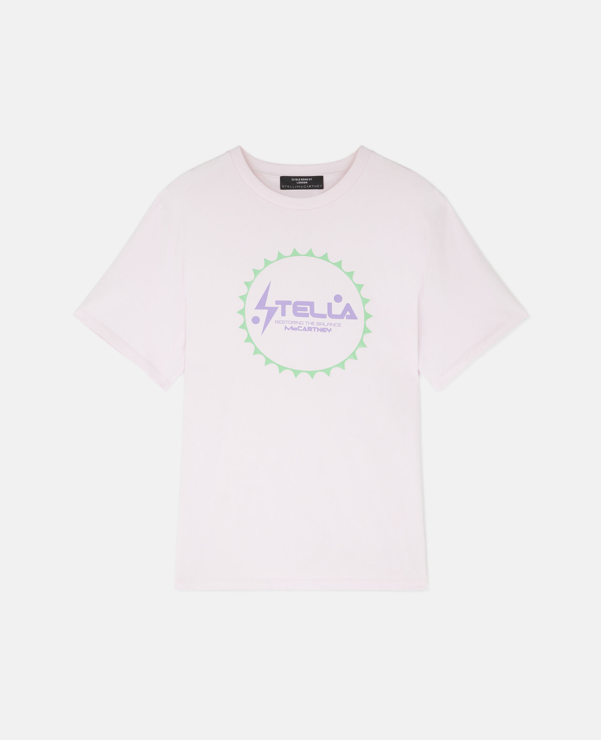 Tom Tosseyn Stella Logo T-Shirt-Pink-large image number 0