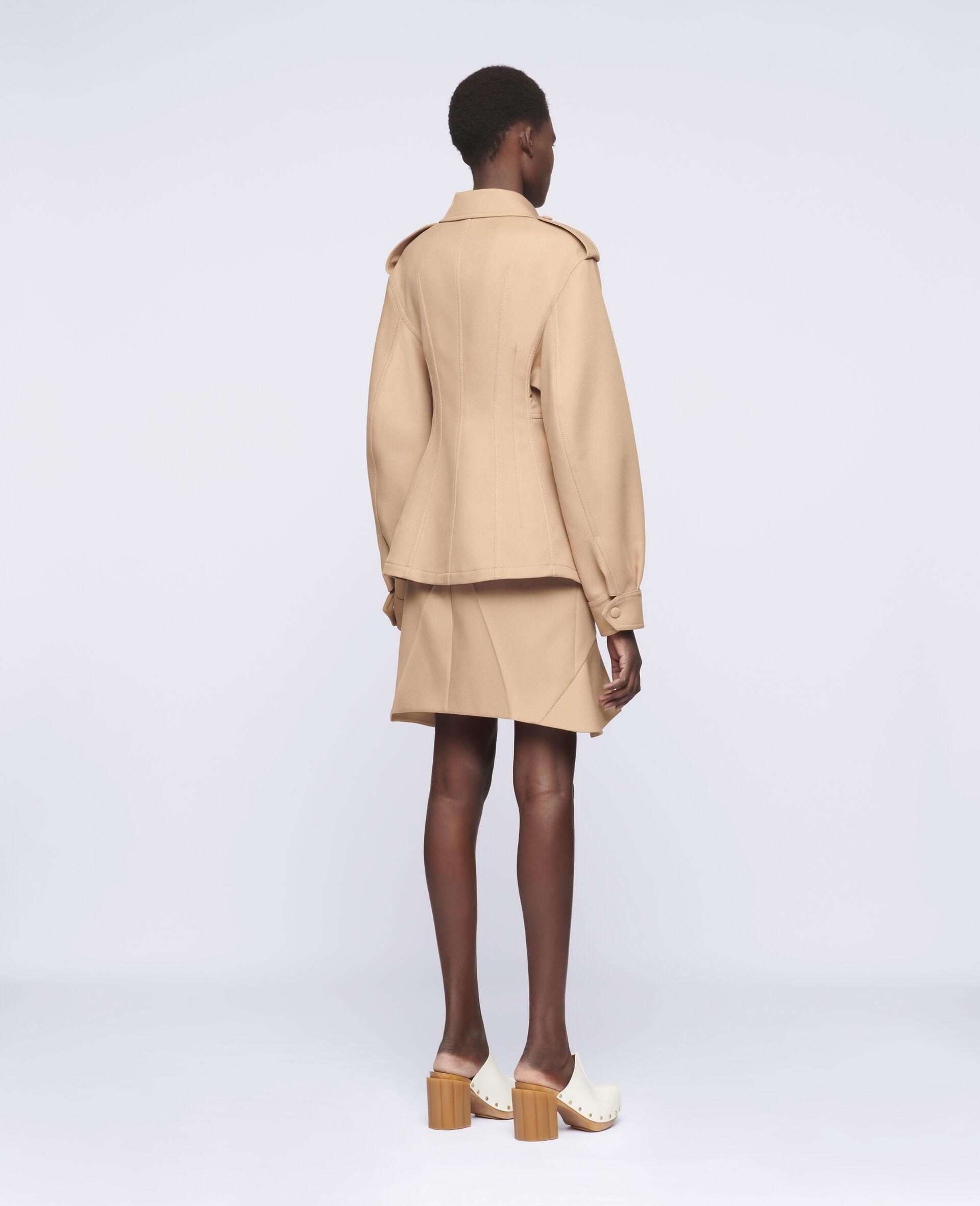 Arabella Mini Skirt-Brown-large image number 2