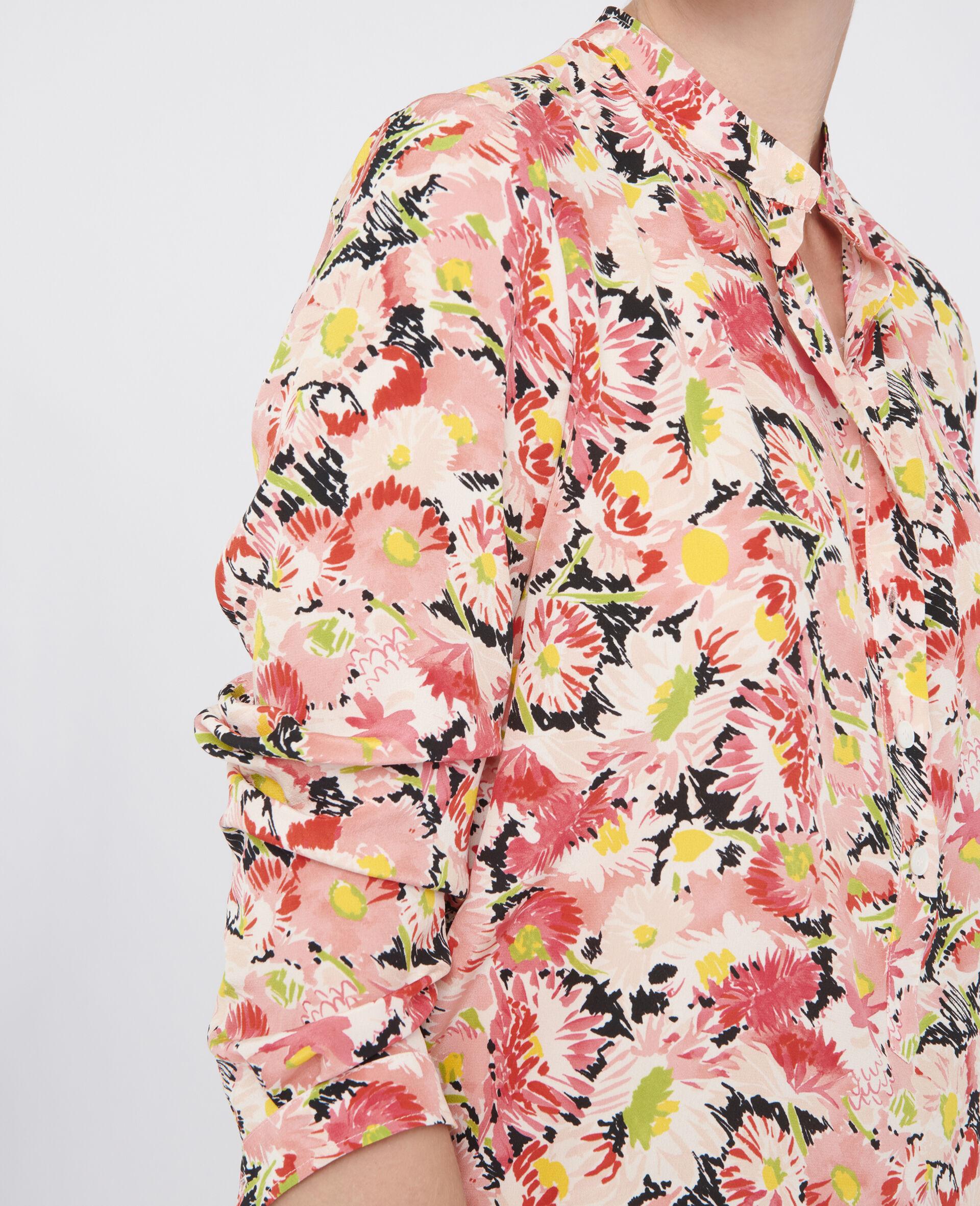 Eva Silk Shirt-Multicoloured-large image number 3
