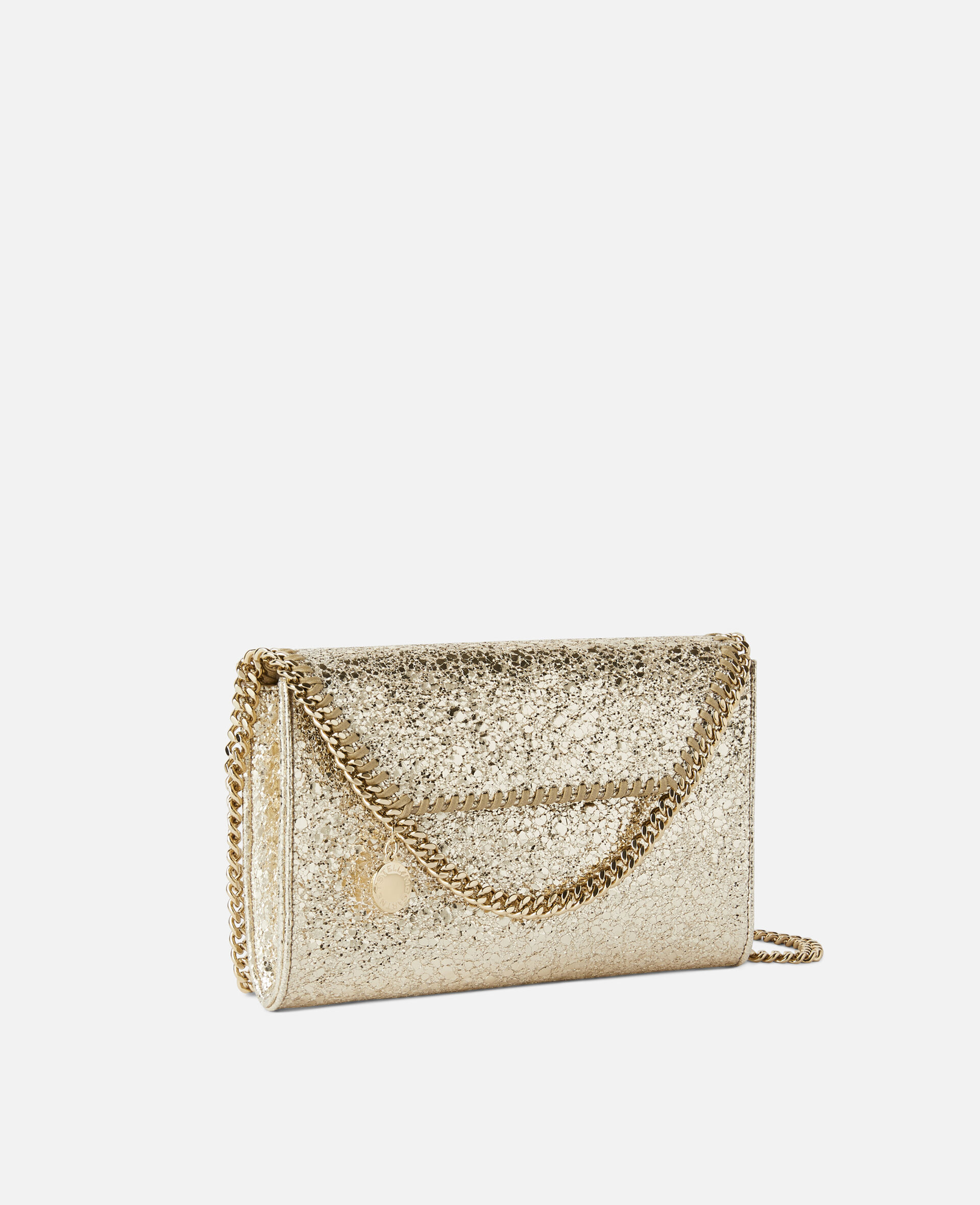 Falabella Mini Shoulder Bag -Yellow-large image number 1