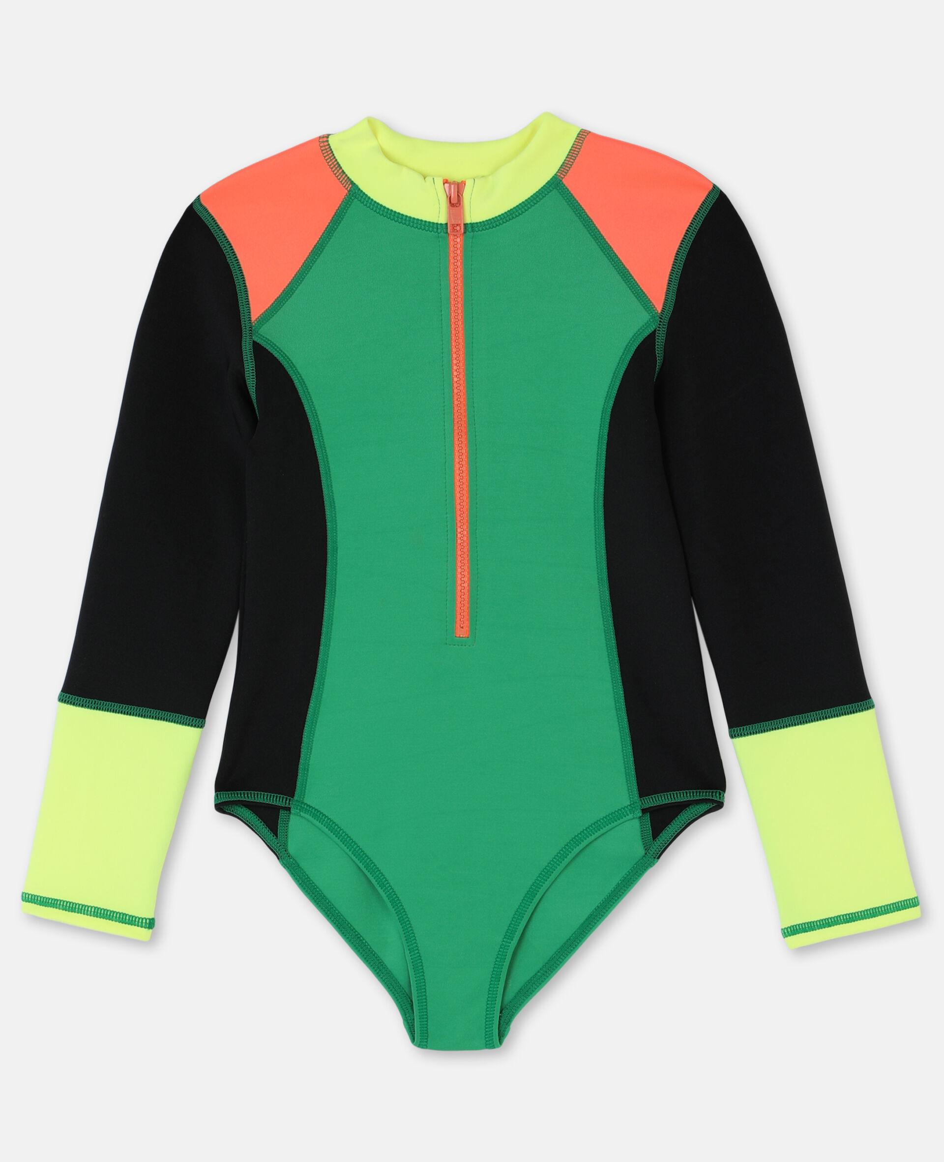 Multicolour Scuba Swimsuit-Multicolour-large image number 0
