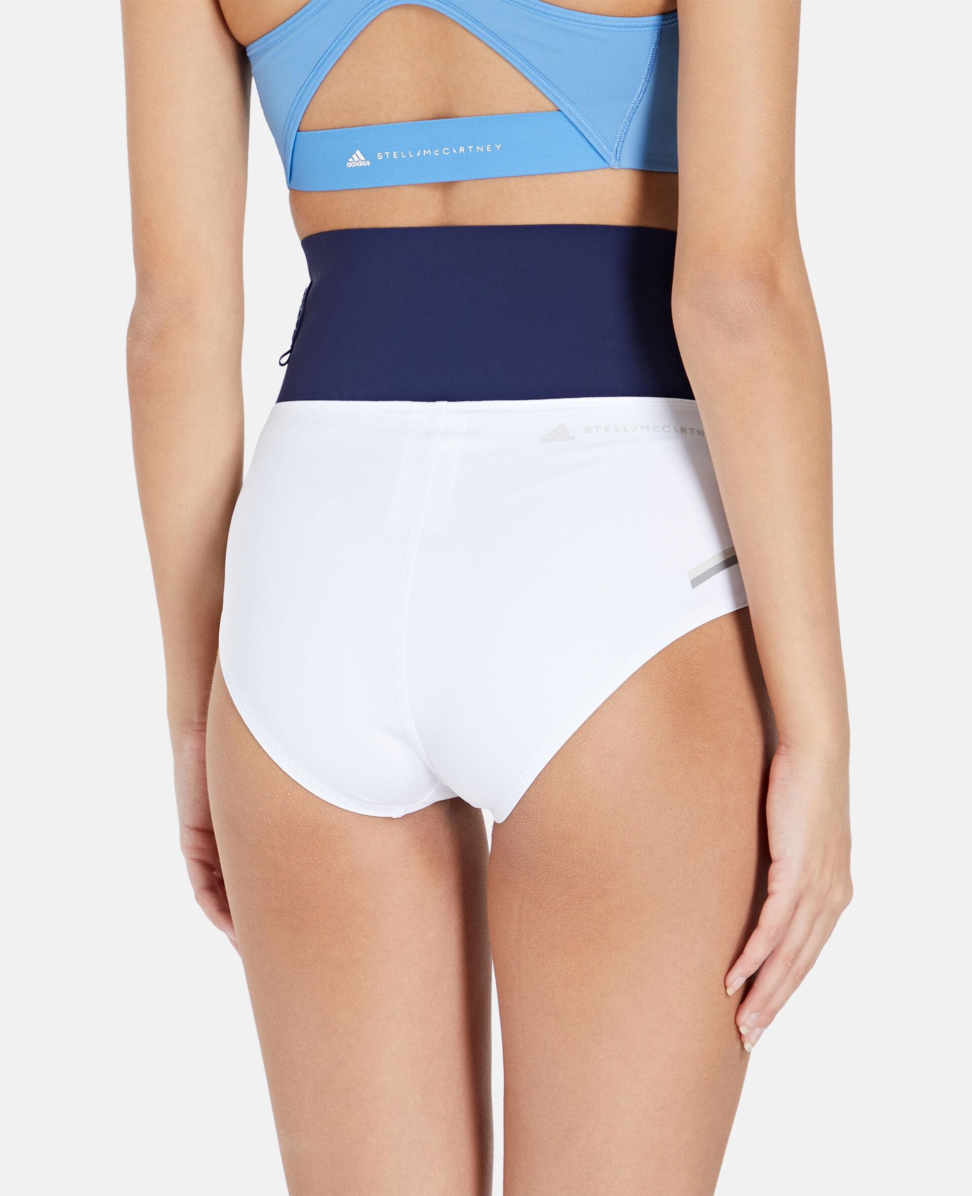 White Beach Defender Bikini Shorts-White-large image number 2