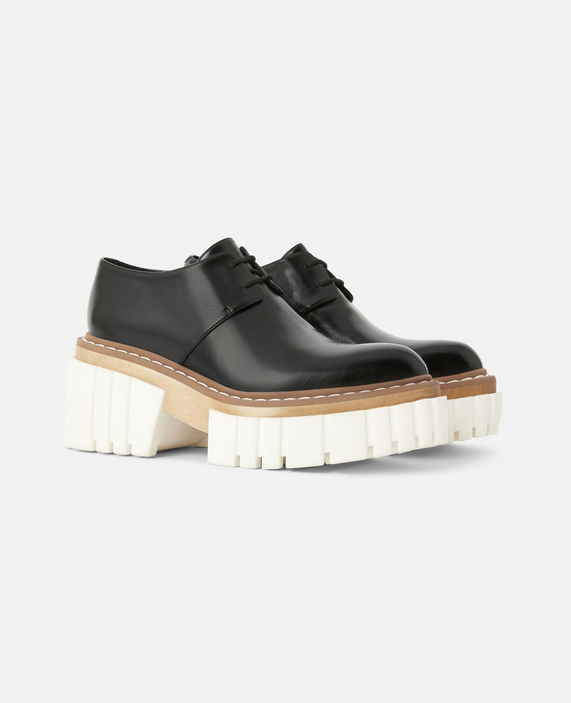 Emilie Lace-Up Shoes-Black-large image number 1