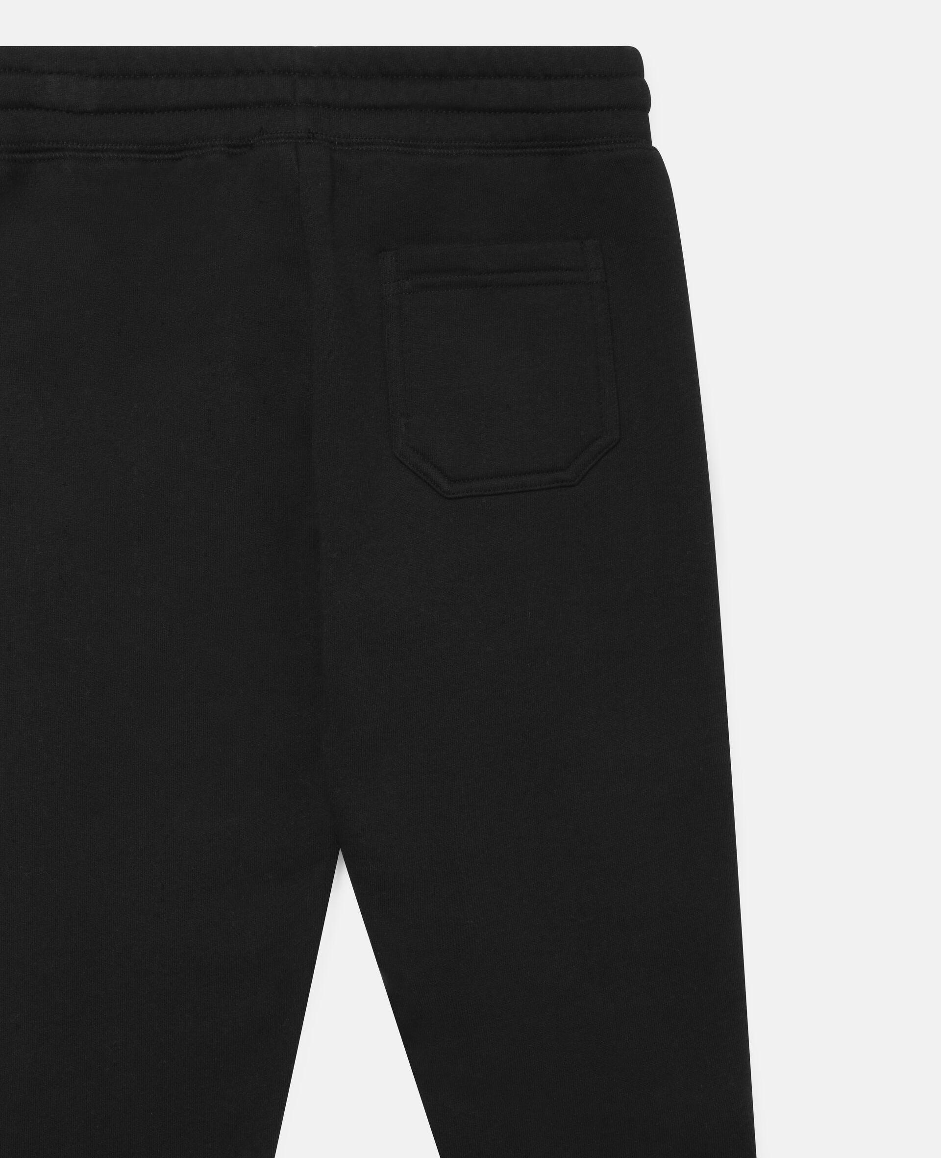 Pantalon de jogging en polaire-Noir-large image number 2